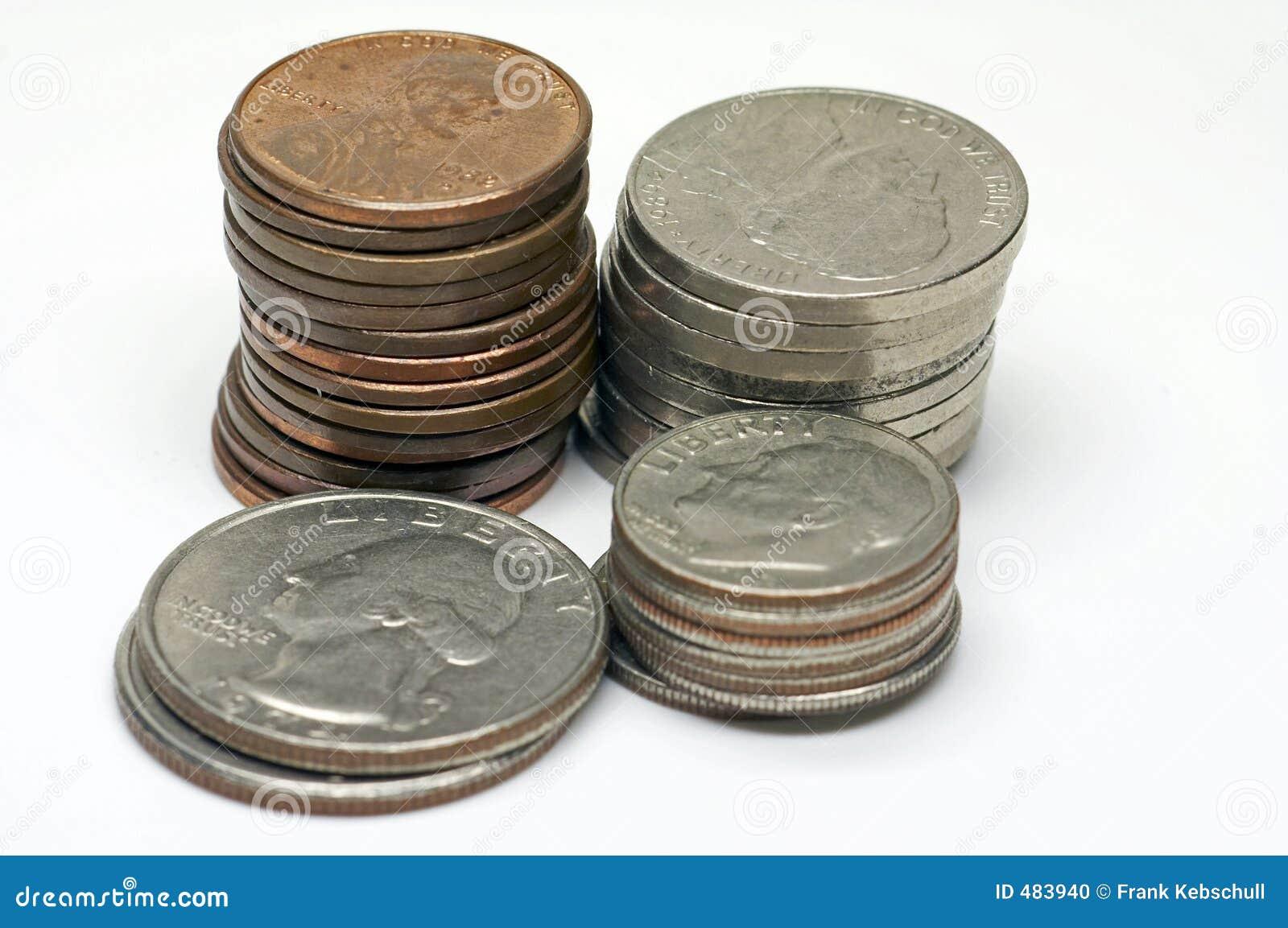 2 цента США