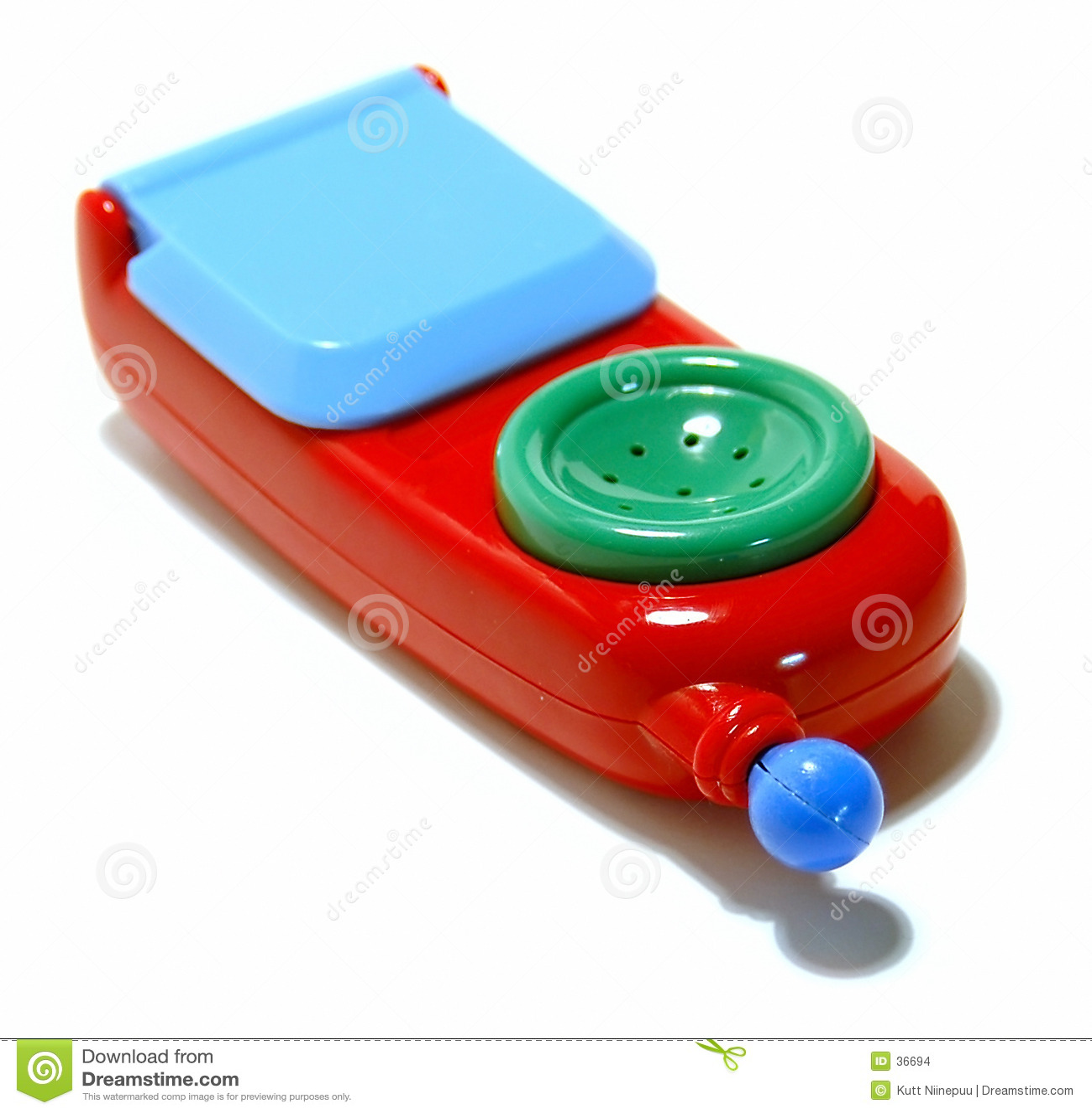 2个电话玩具