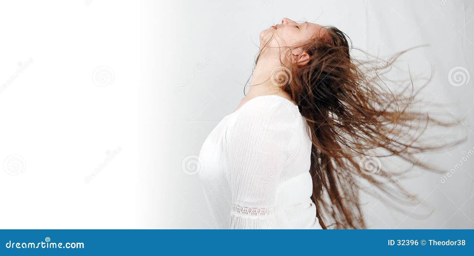 2个舞蹈头发