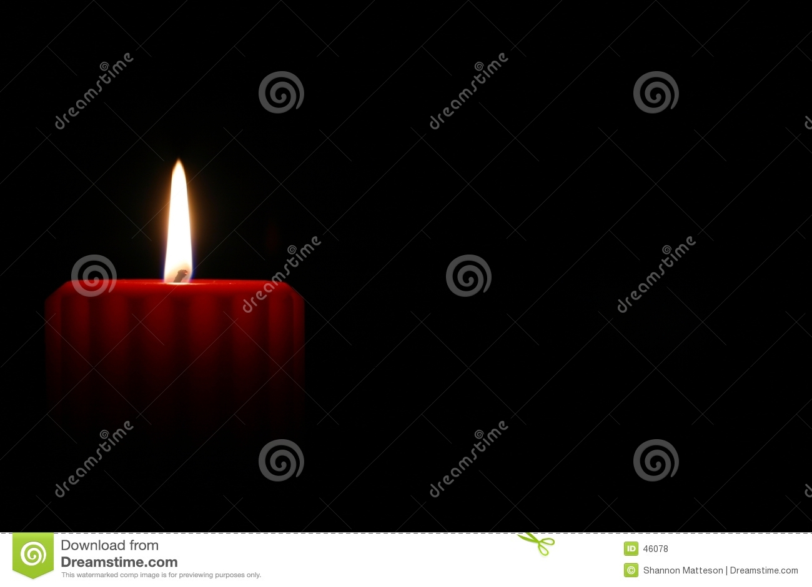 2个蜡烛红色