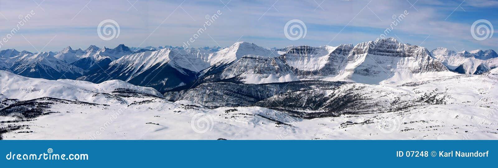 2全景的山