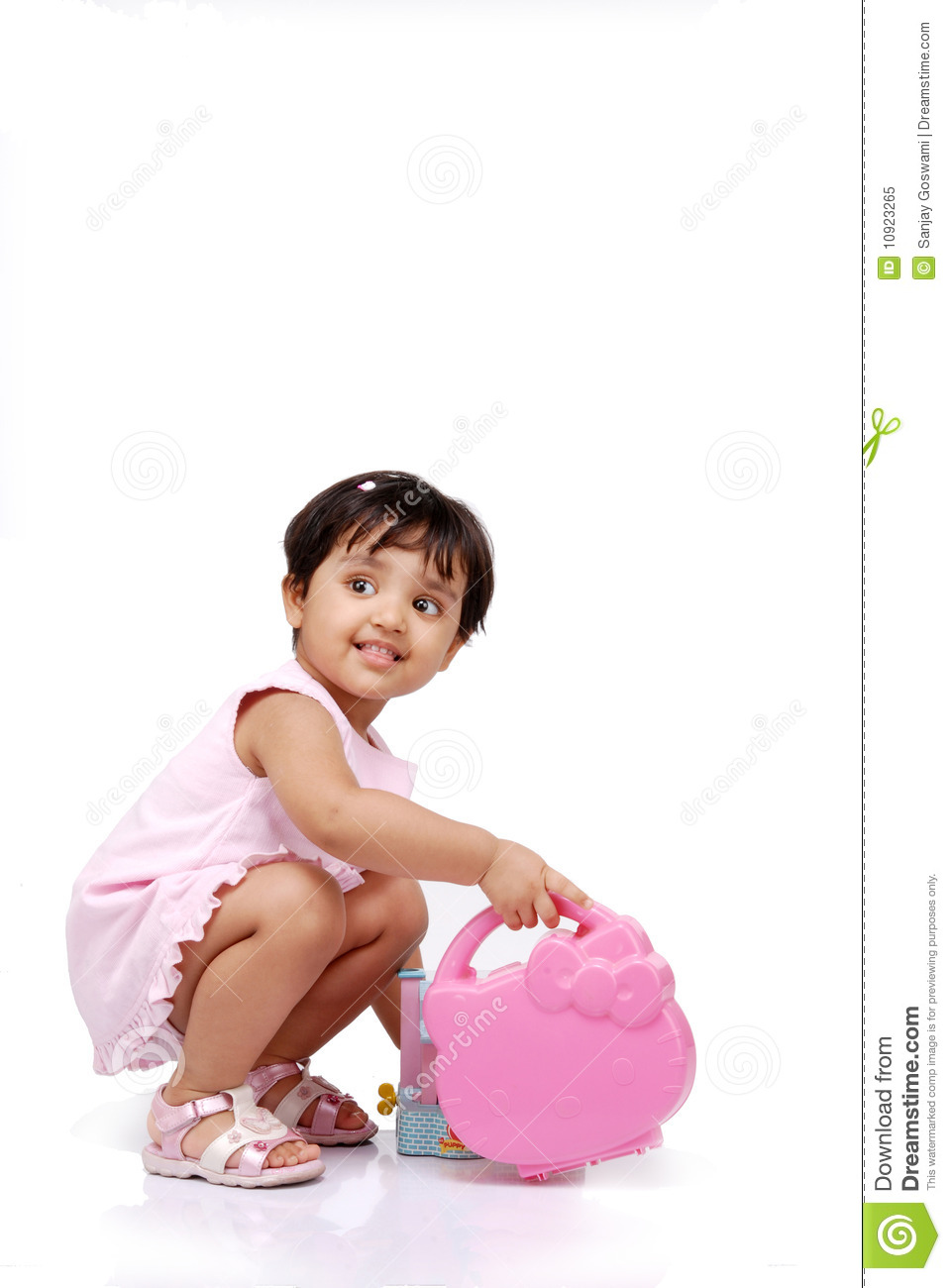 2 3 Years Old Baby Girl Stock Image Image Of Active 10923265