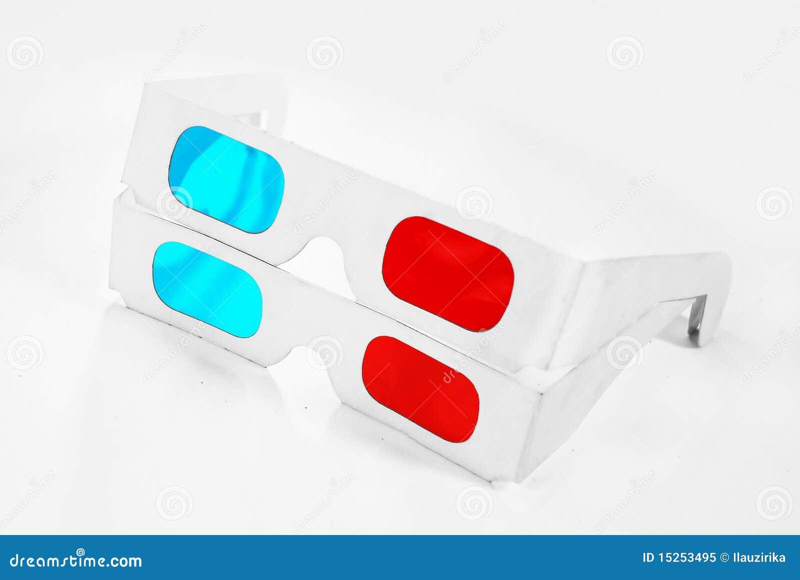 2 3d glasses