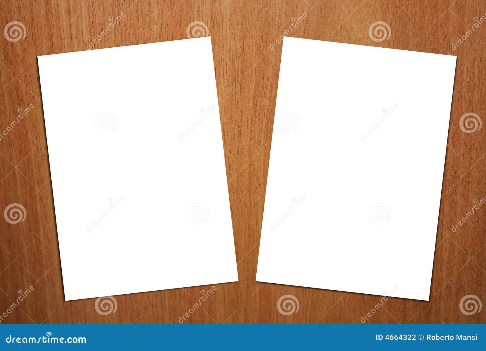 2 a4背景页版本白色木头