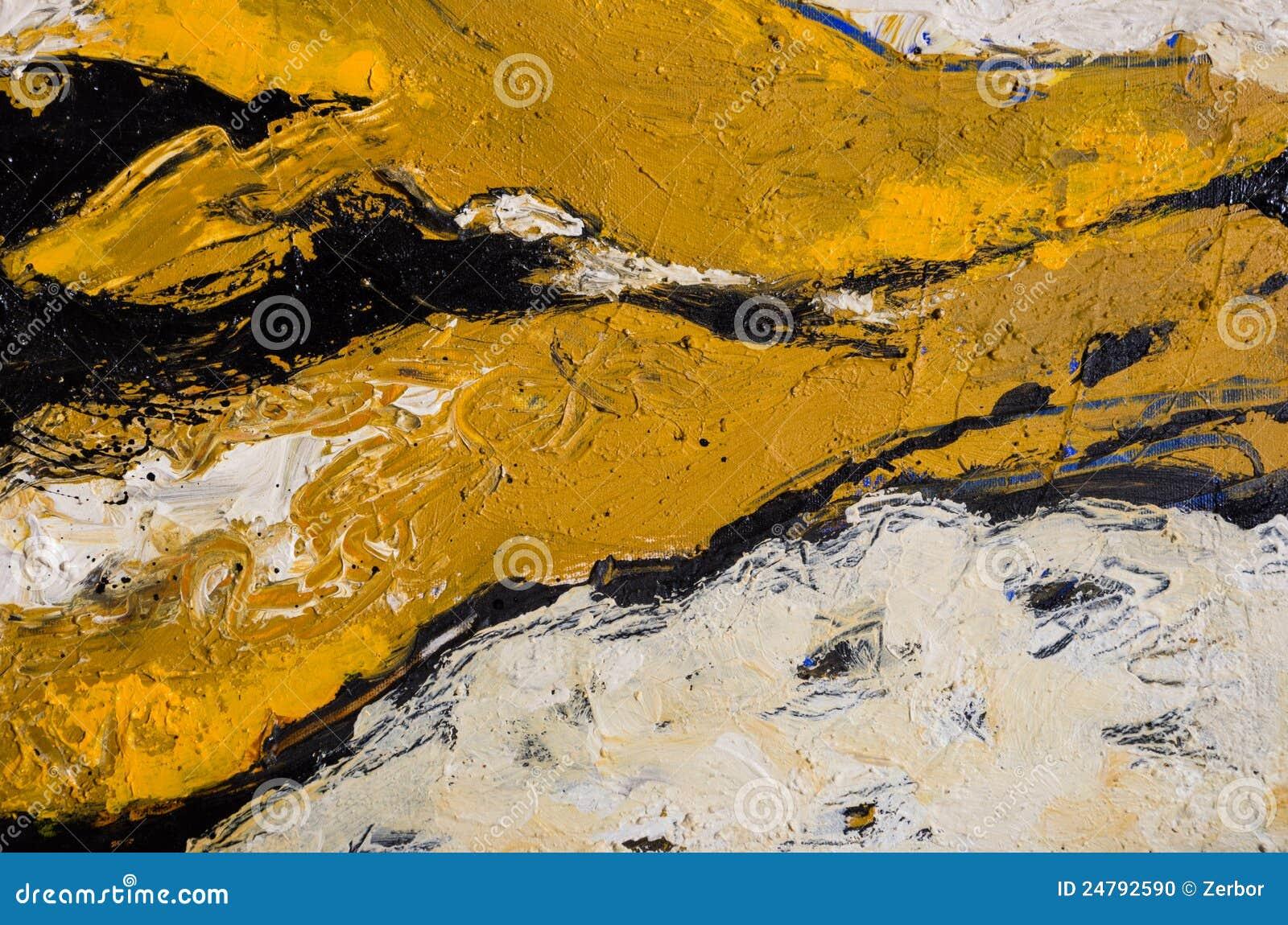 2 abstrakcjonistyczny obraz