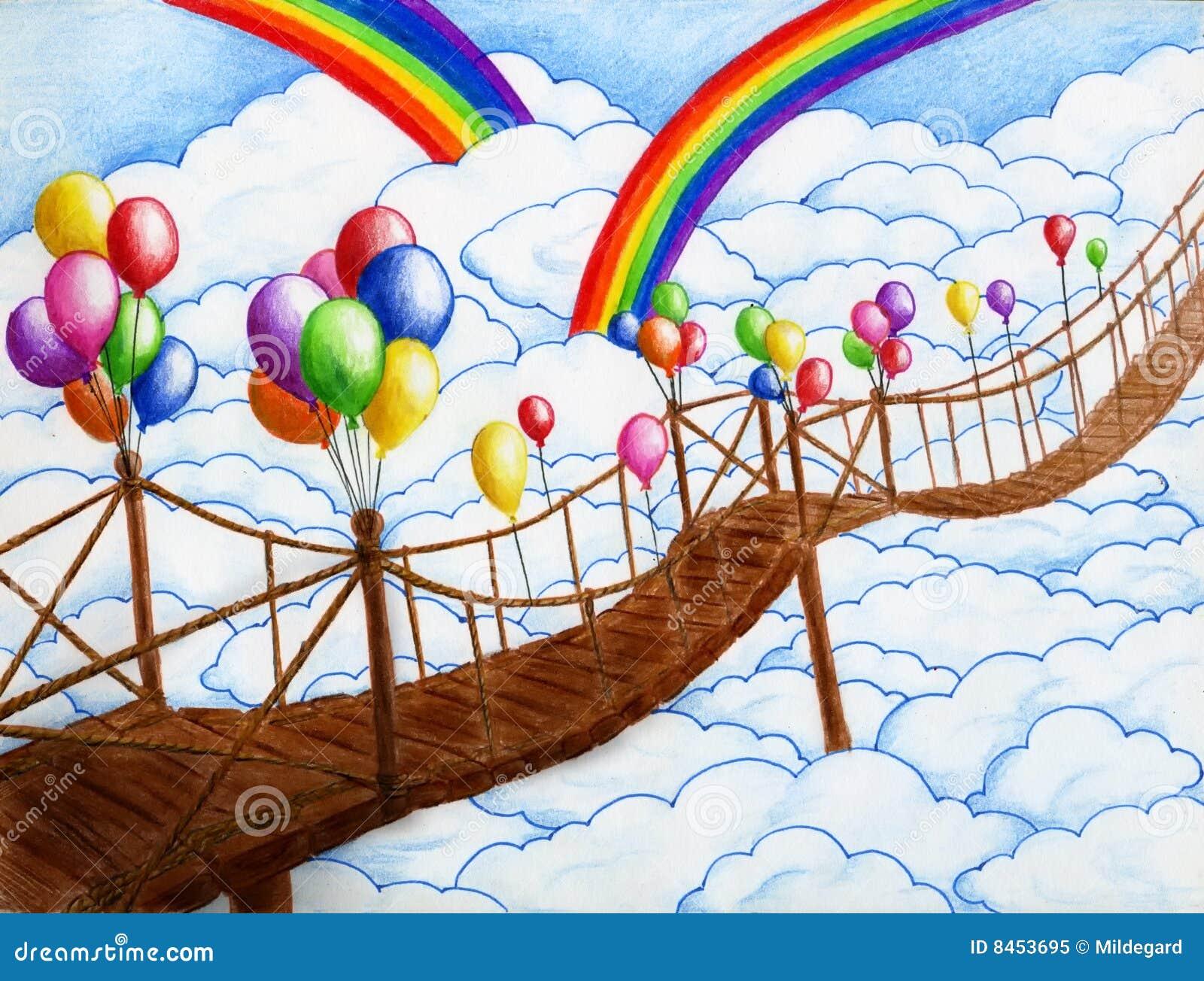 2 ballonger bridge skyen