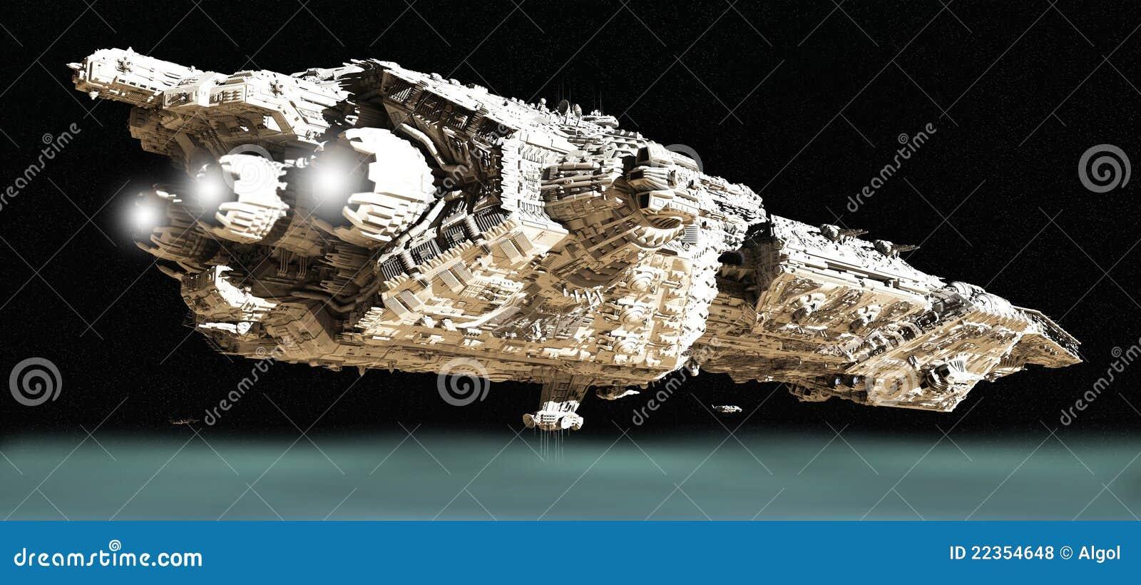2 batalistycznego krążownika niska orbita