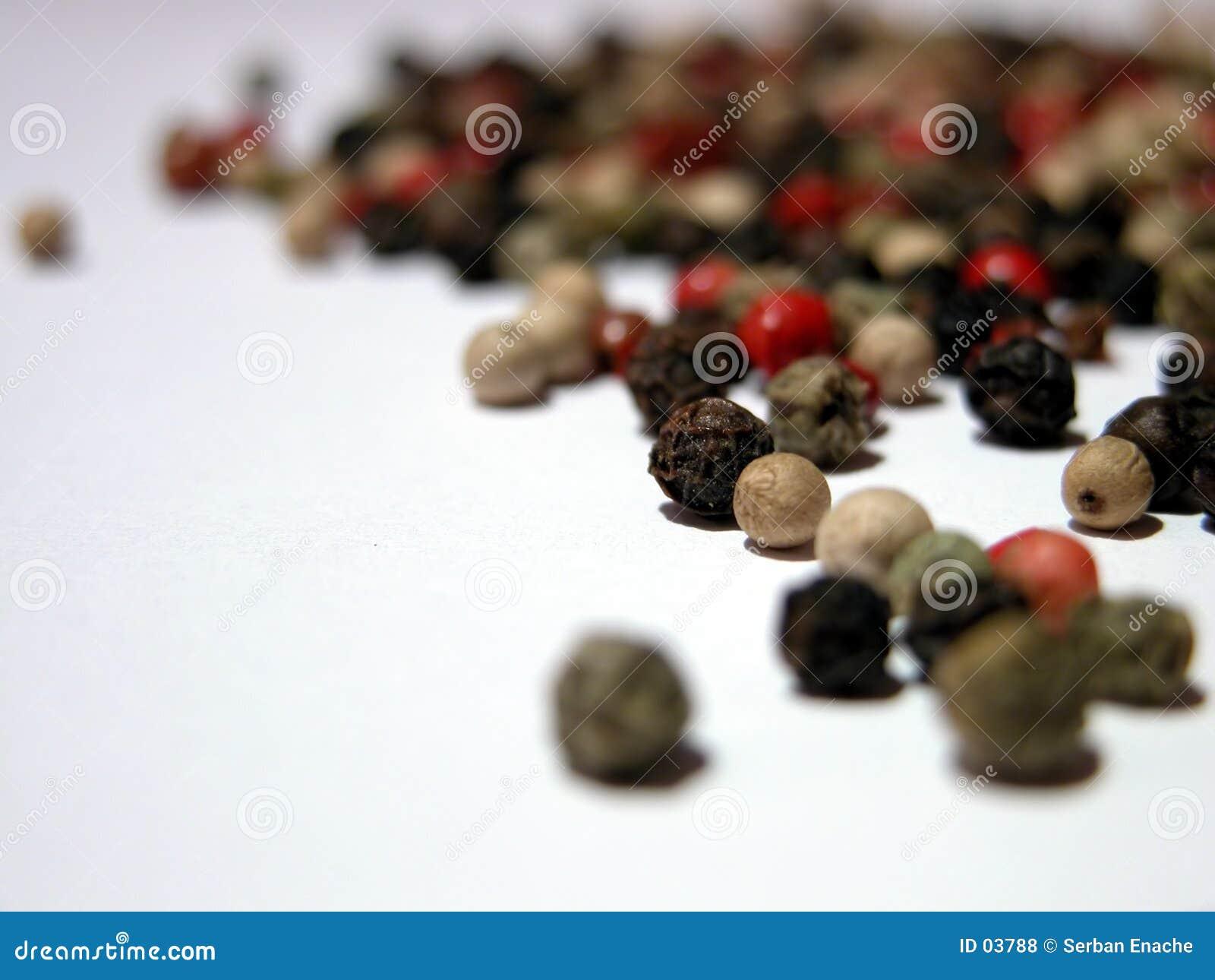 2 blandad peppar