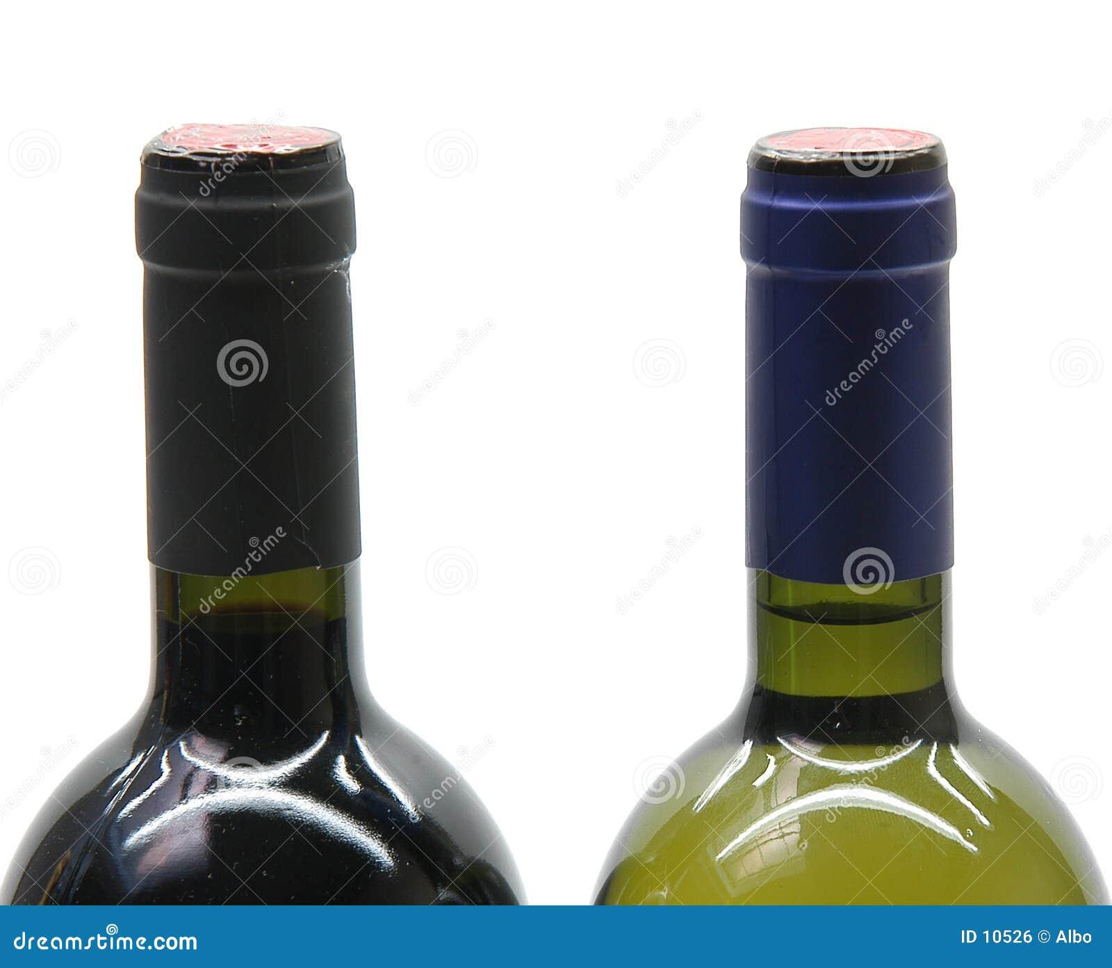 2 bouteilles de vin