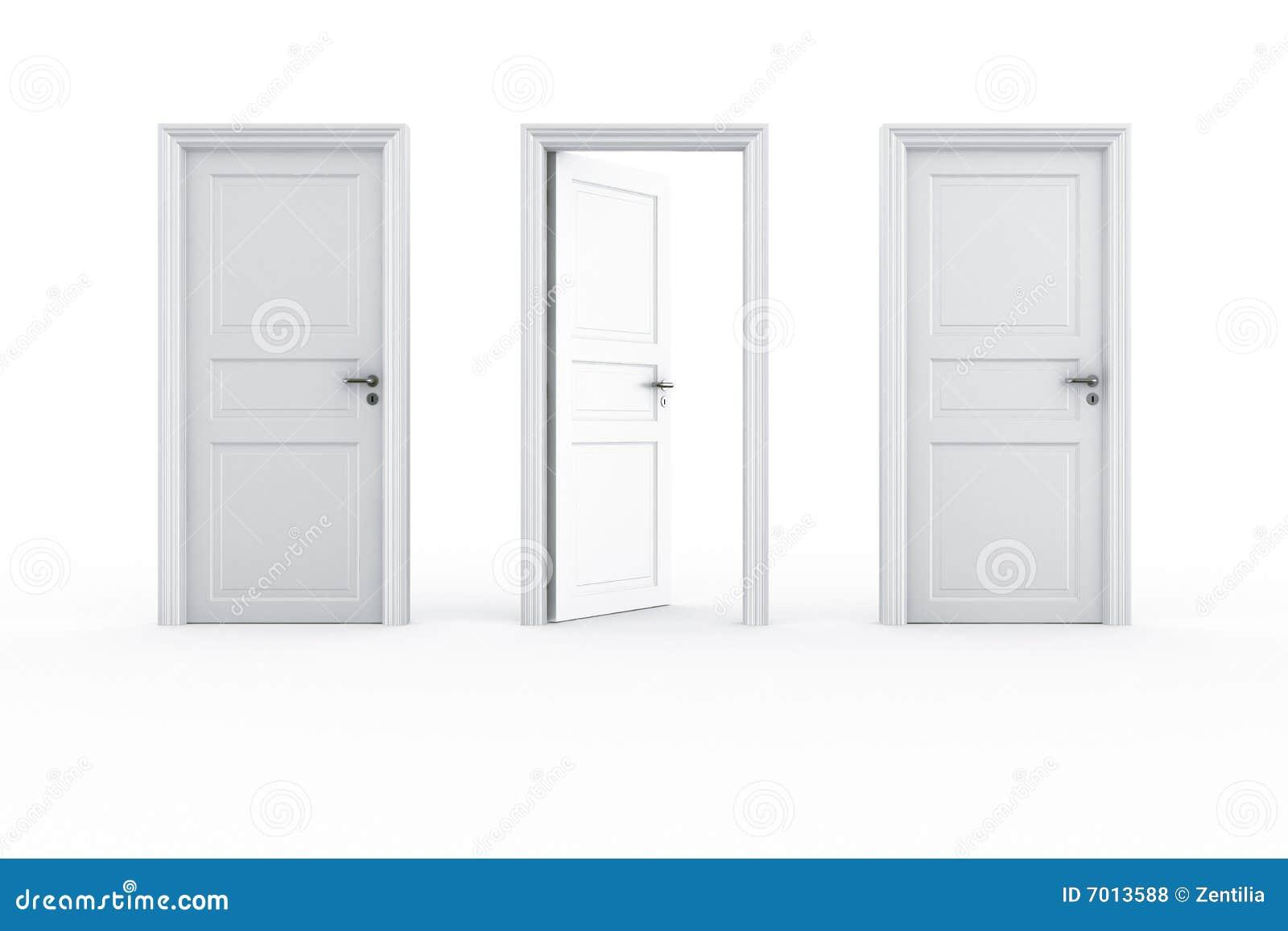 open and closed door clipart. 2 Closed Door 1 Open And Clipart