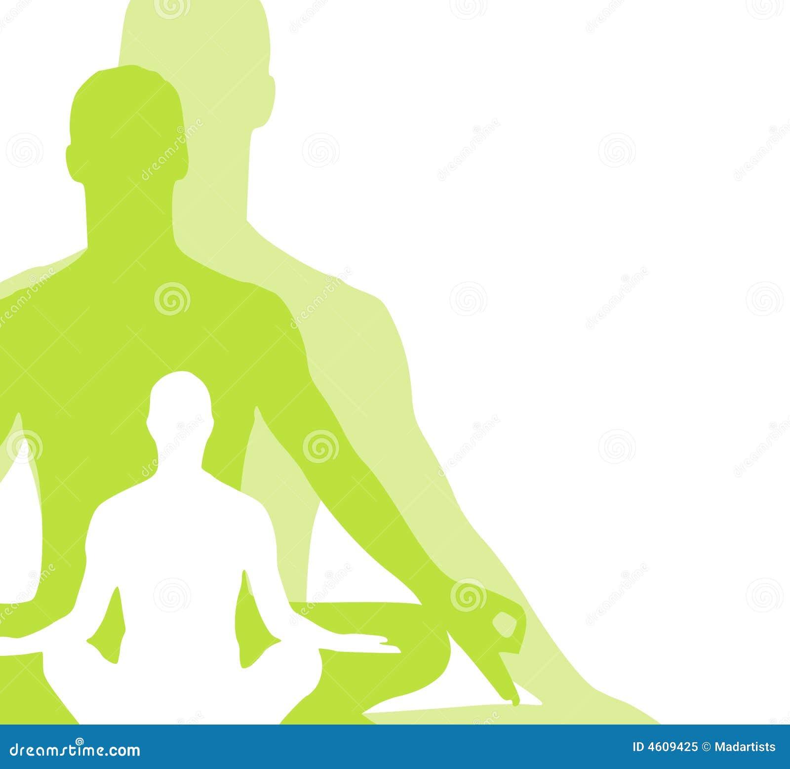 2 diagram placerar sittande yoga
