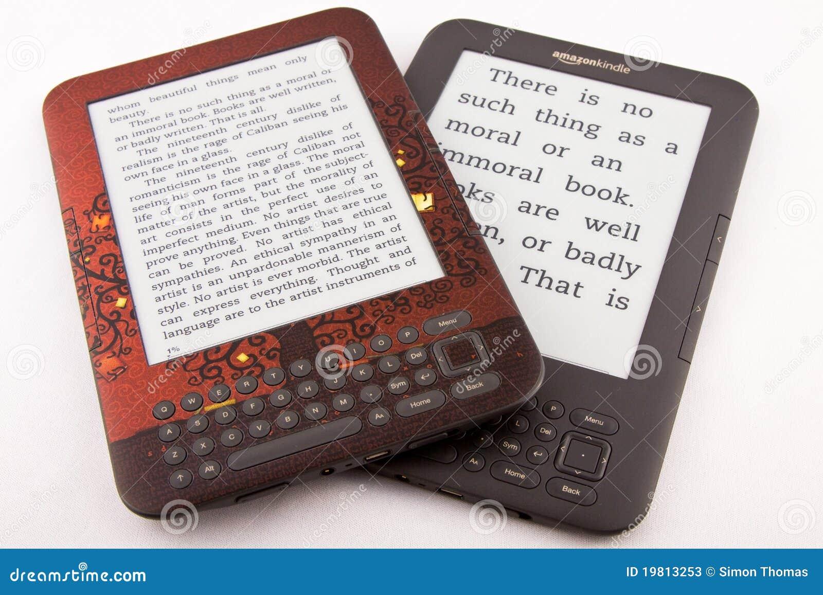 2 el Amazonas encienden los E-Programas de lectura (diversas tallas de fuente)