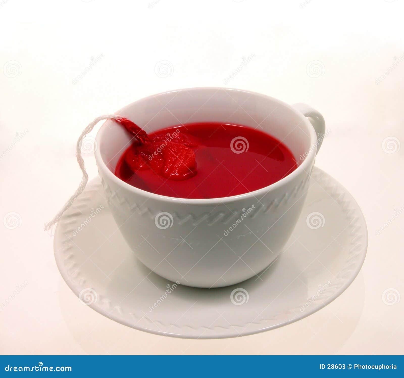 2 filiżanek Halloween gorąca herbata wampir
