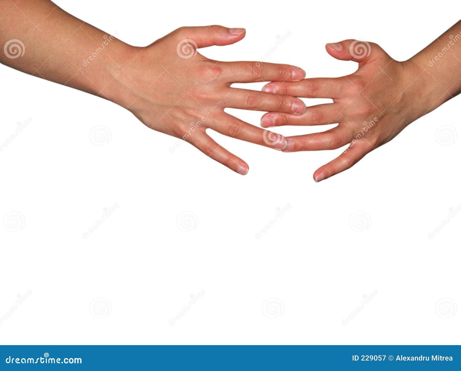 2 händer