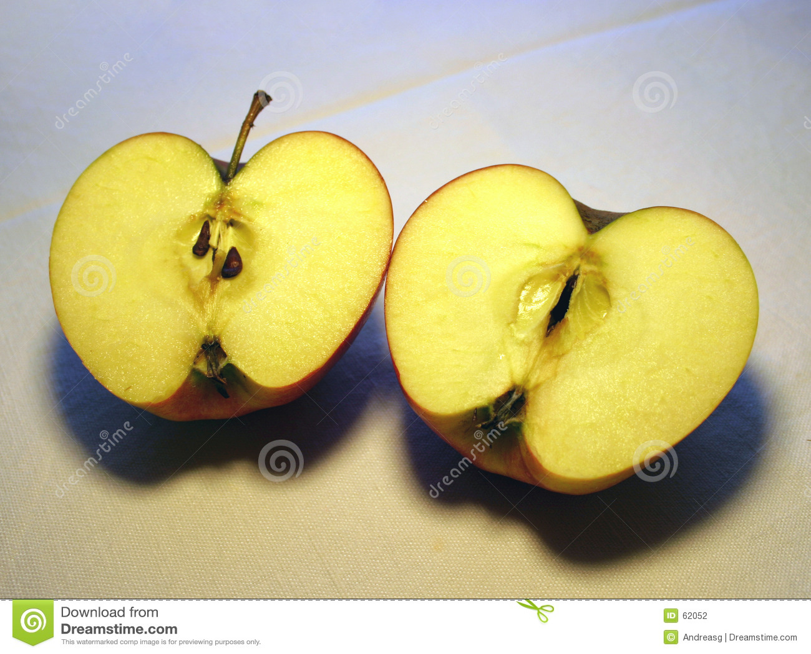 2 halfs della mela
