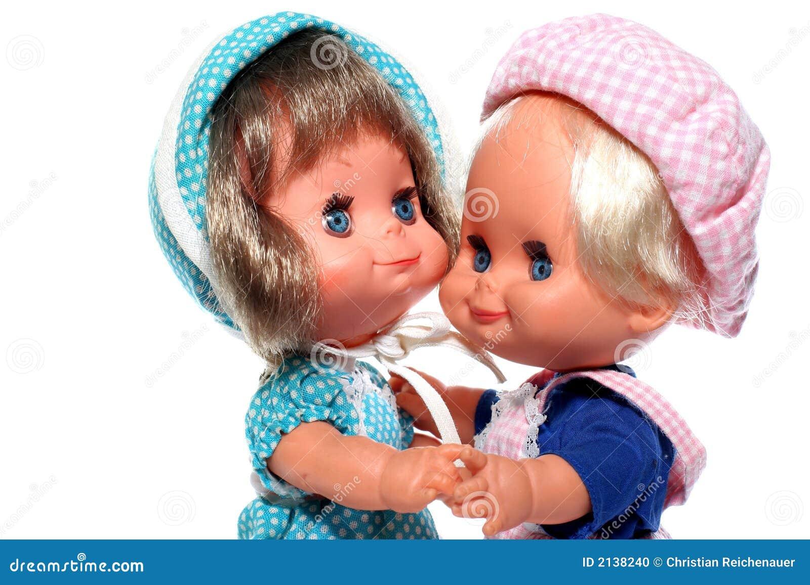 Download 2 happy dolls dancing stock photo. Image of greek, childhood - 2138240