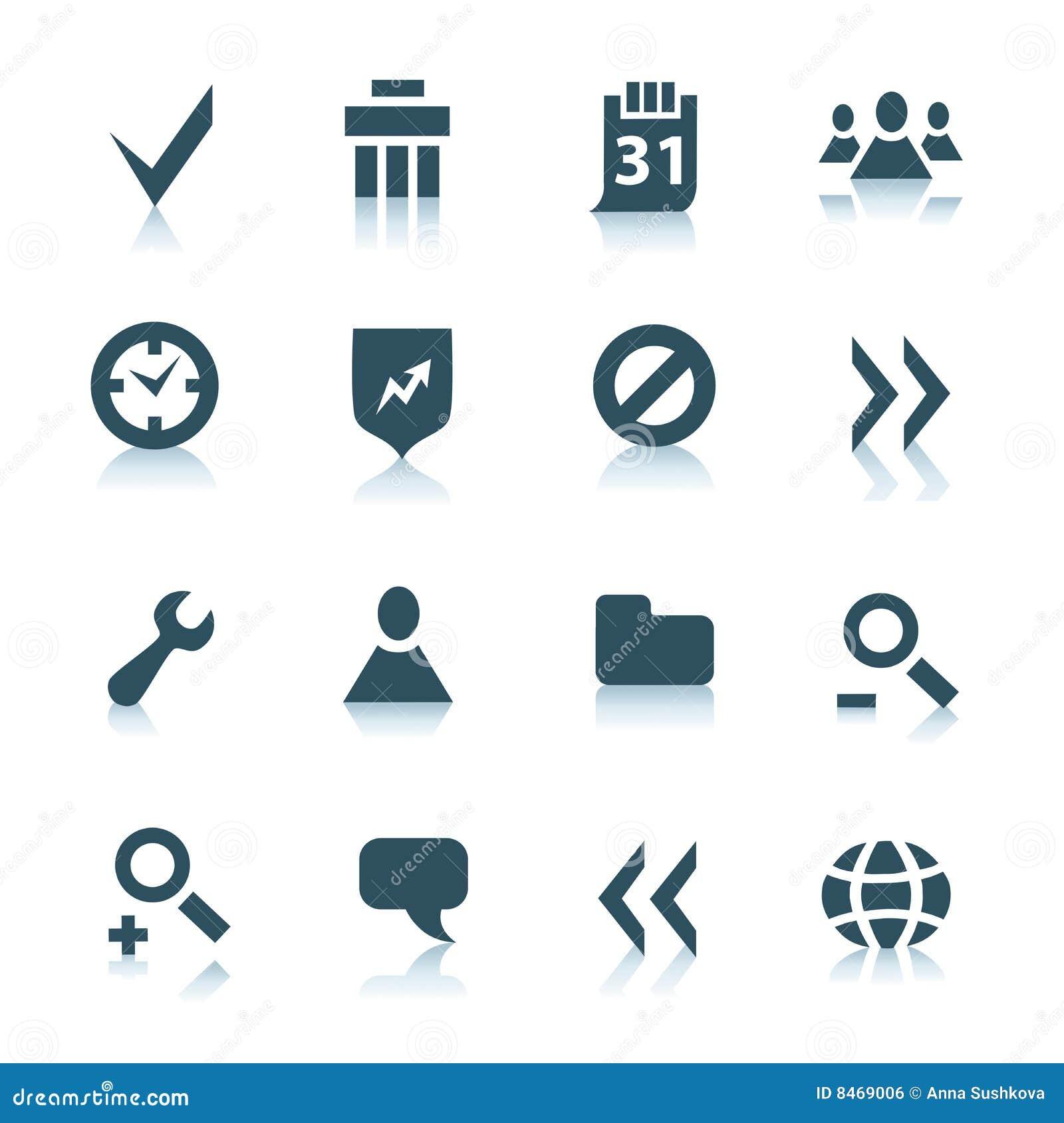 2 ikon interneta szara część