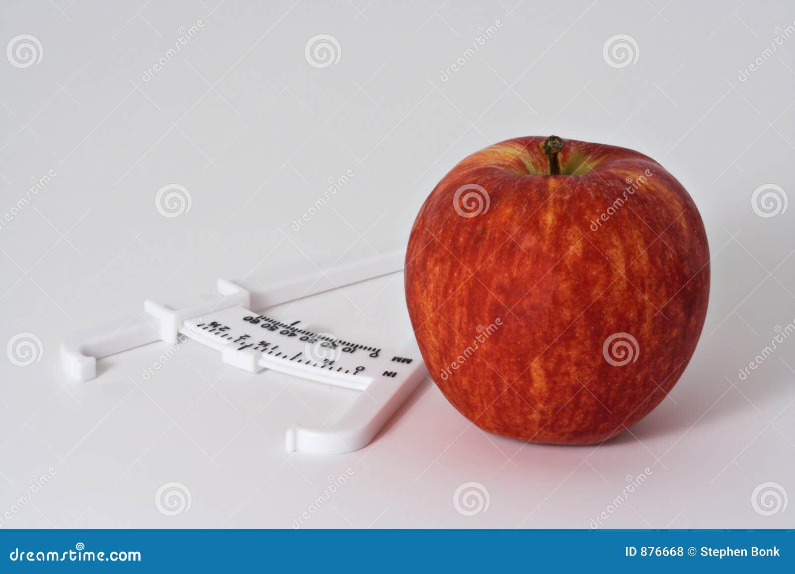 2 jabłek caliper