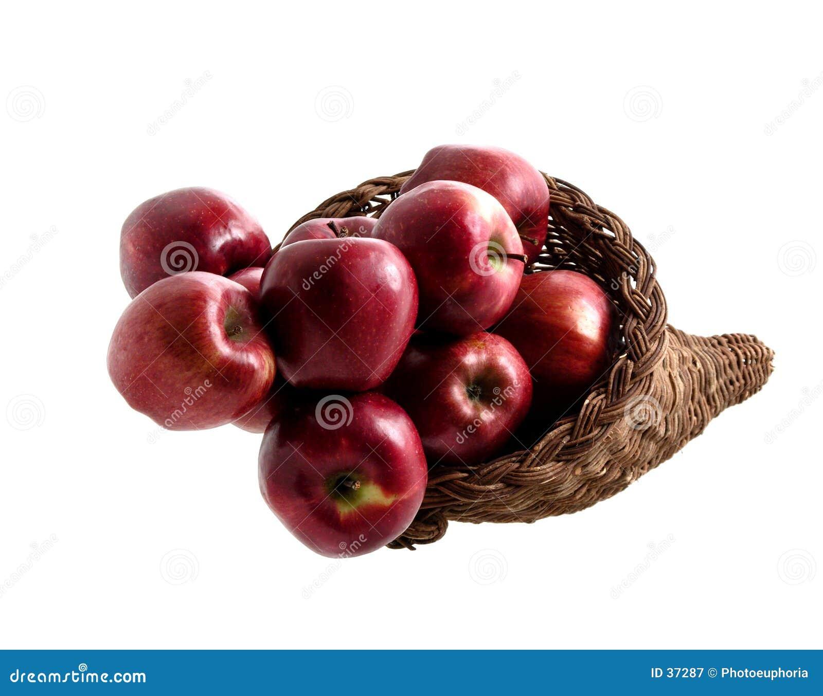 2 jedzenie jabłek 4 koszyka