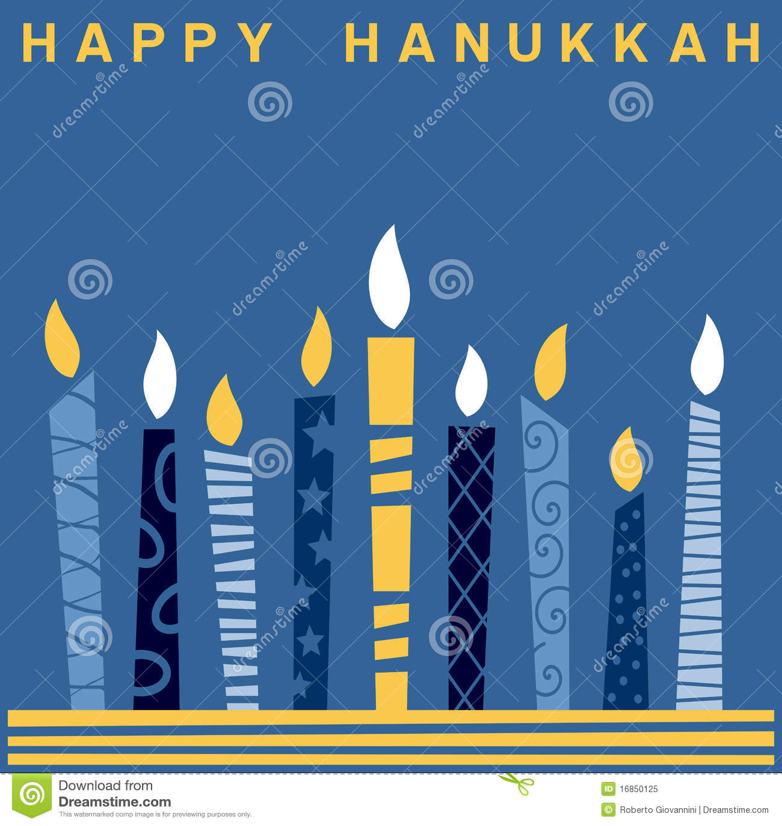 2 karcianego retro Hanukkah szczęśliwego