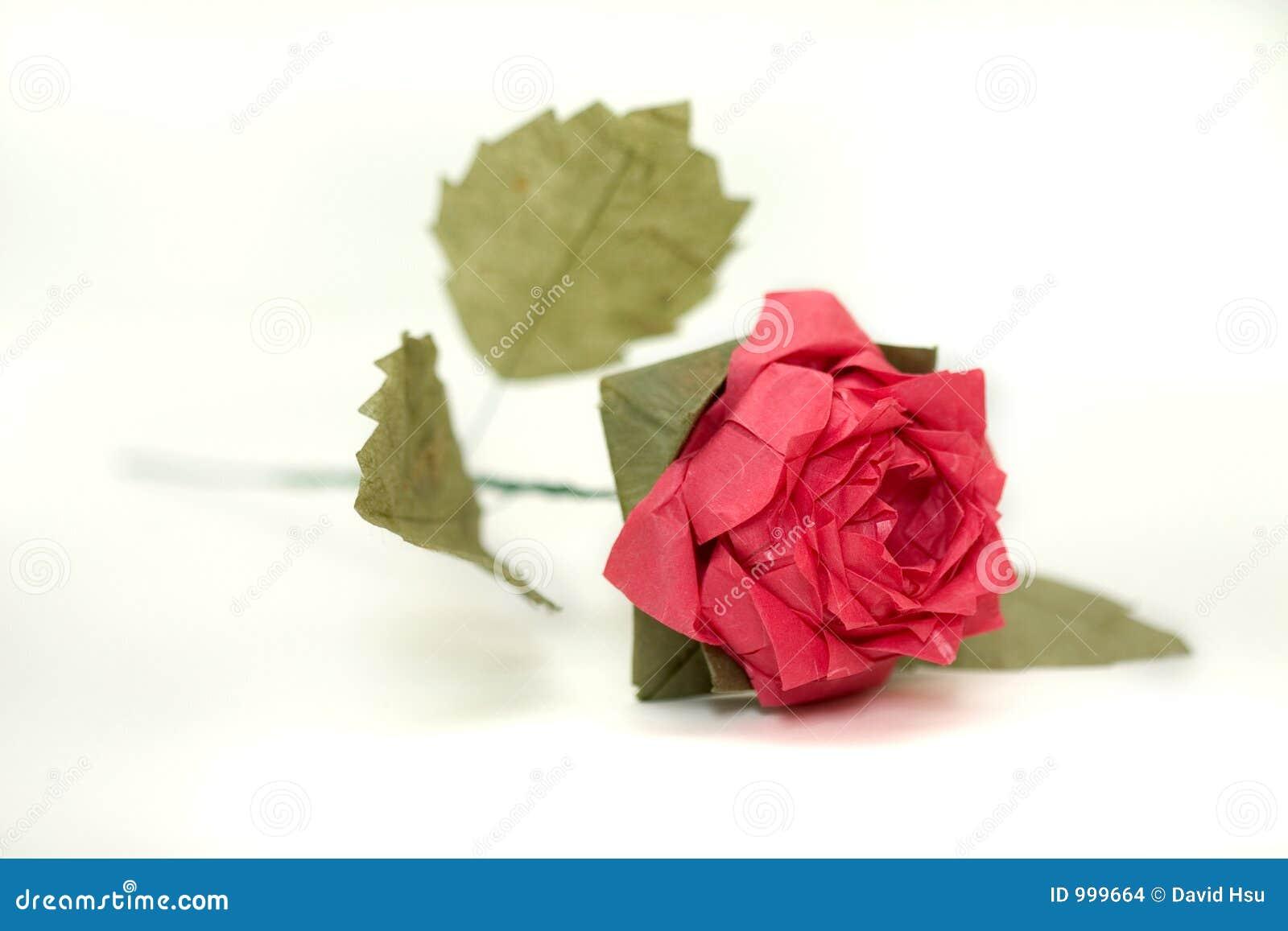 2 origami skomplikowanych rose
