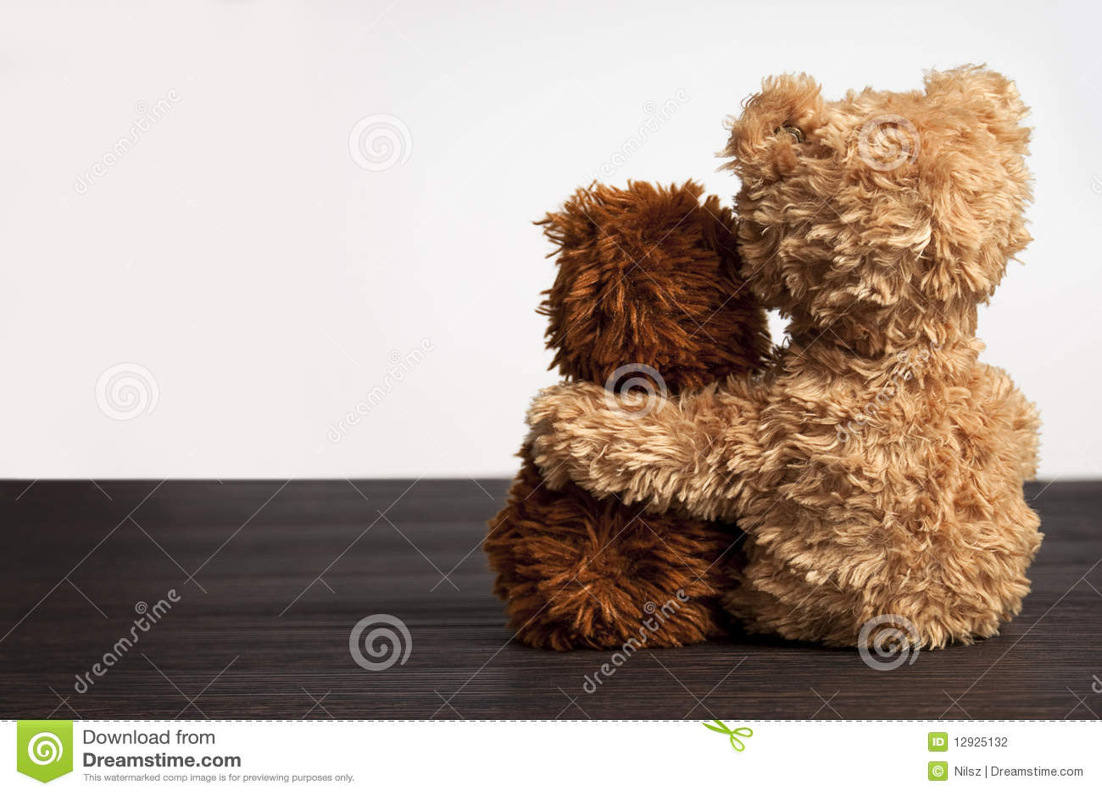2 ręki niedźwiedzi przyjaźń target2231_1_ jeden s miś pluszowy