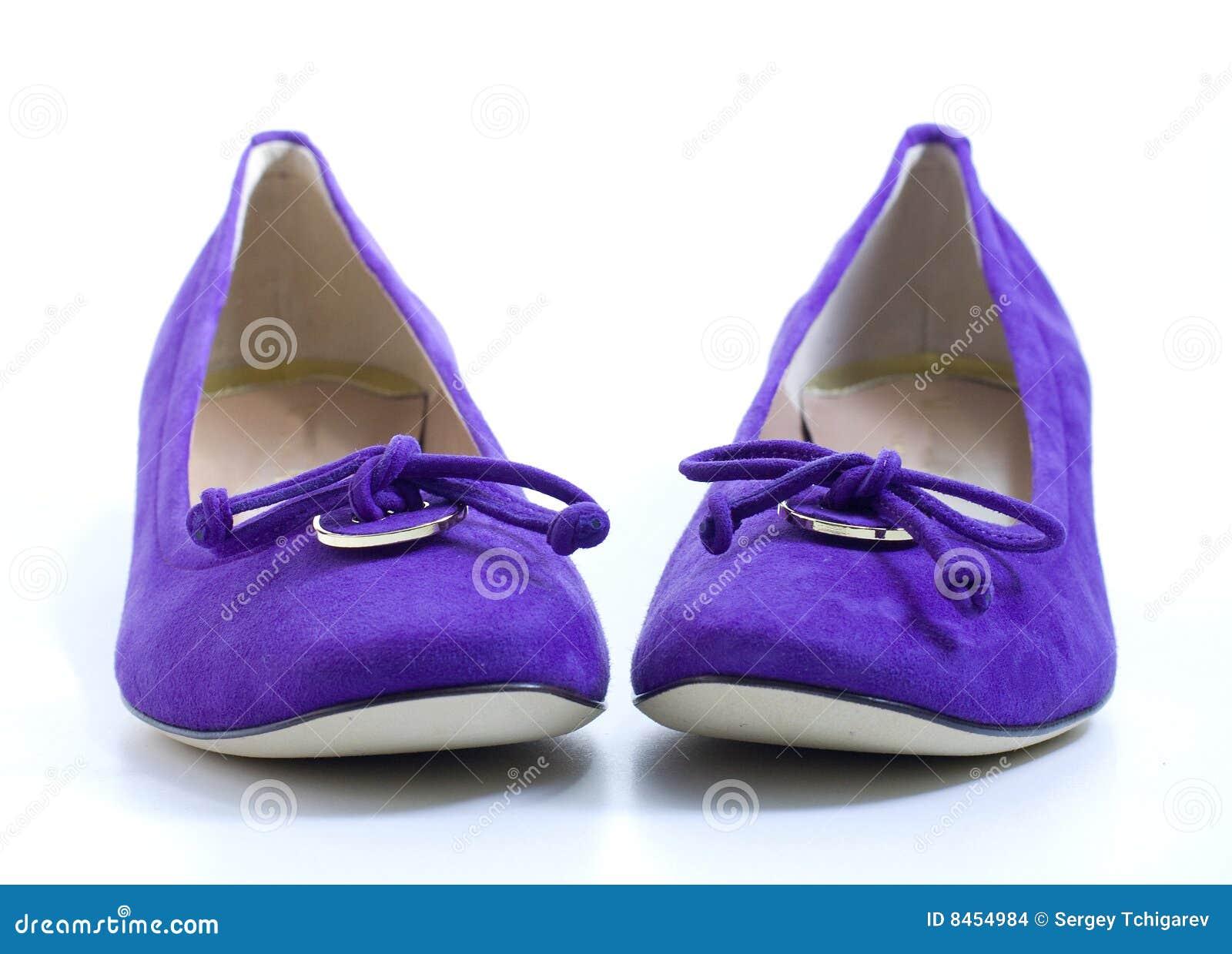 2 violetta skor för lady s