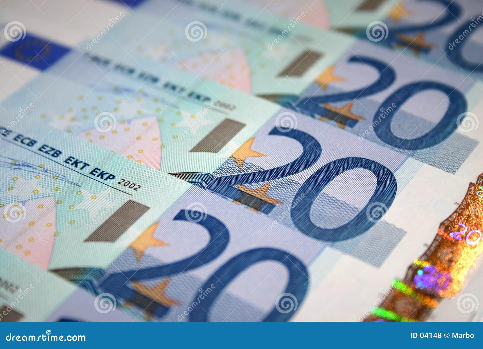 20 ευρώ λογαριασμών