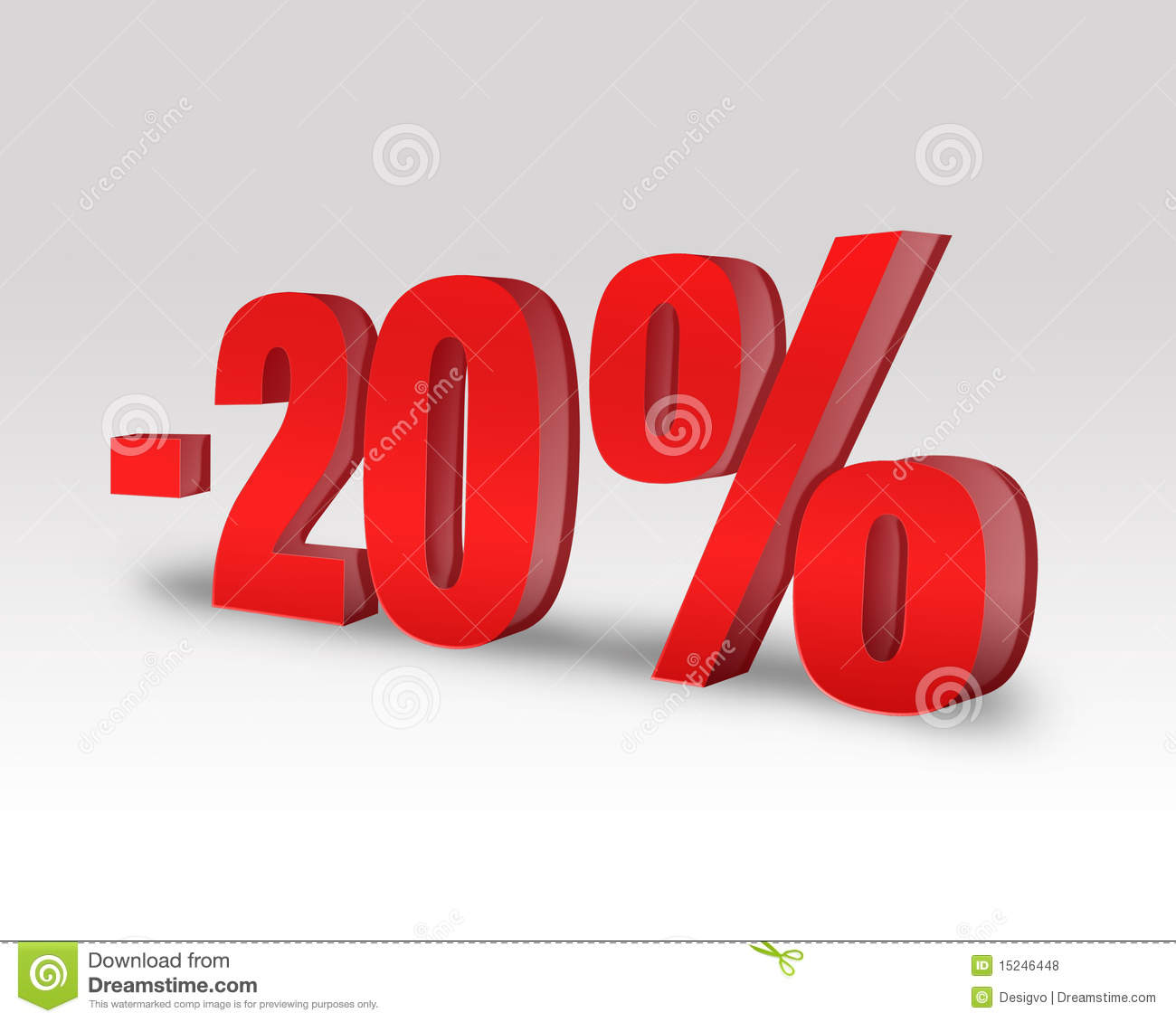 20 discount offer stock illustration image of corporate for Boden 20 rabatt