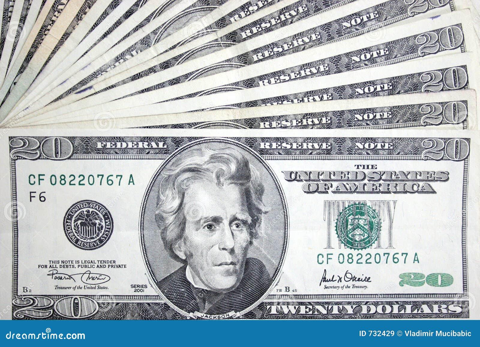 20 dollars, Jackson