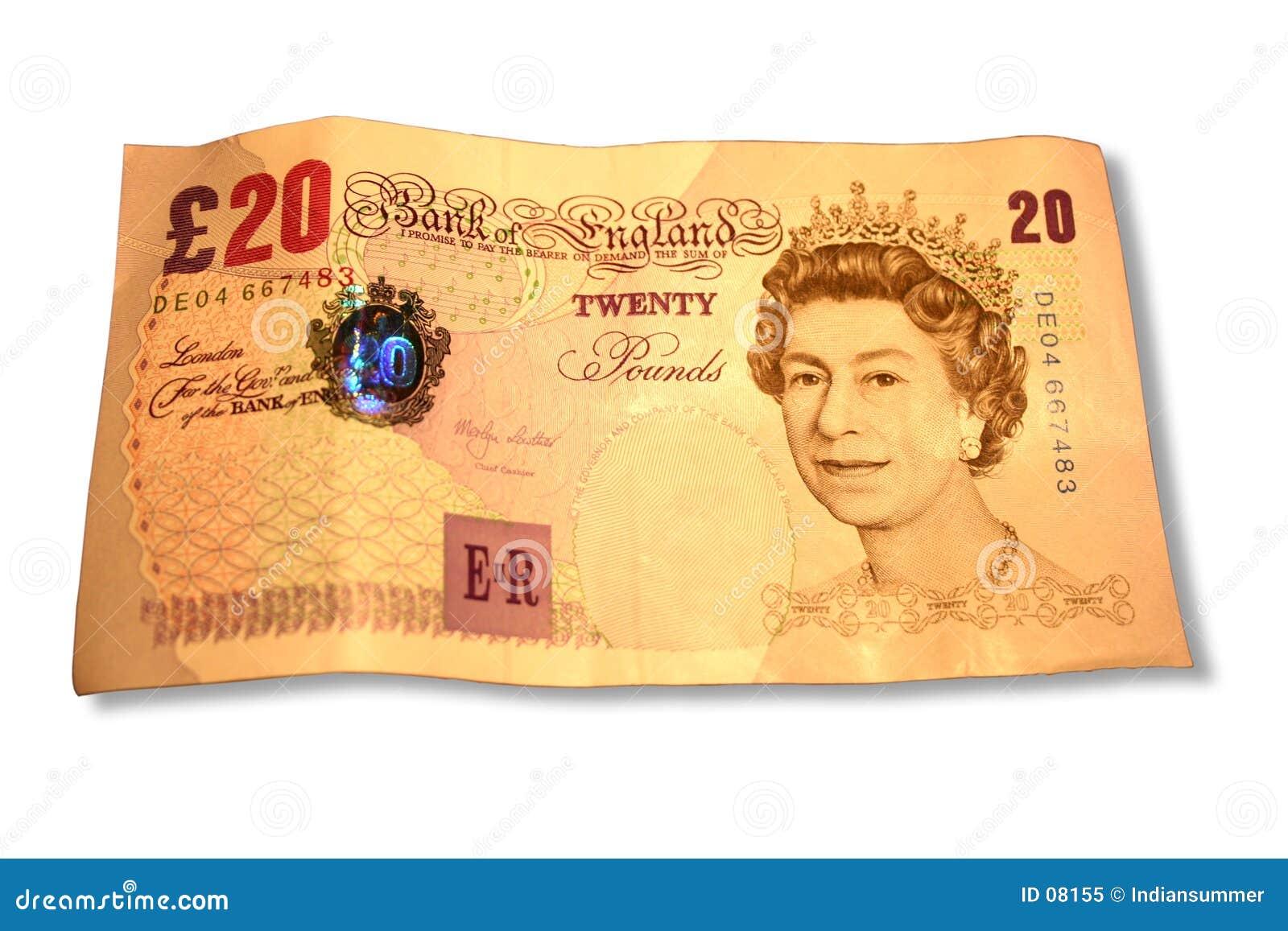 20 funtów
