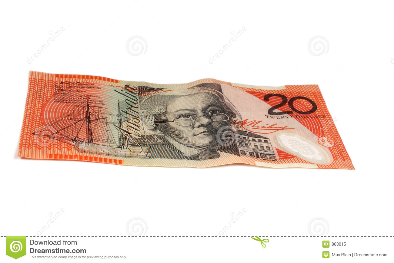 20 Note Royalty Free Stock Photo - Image: 863015