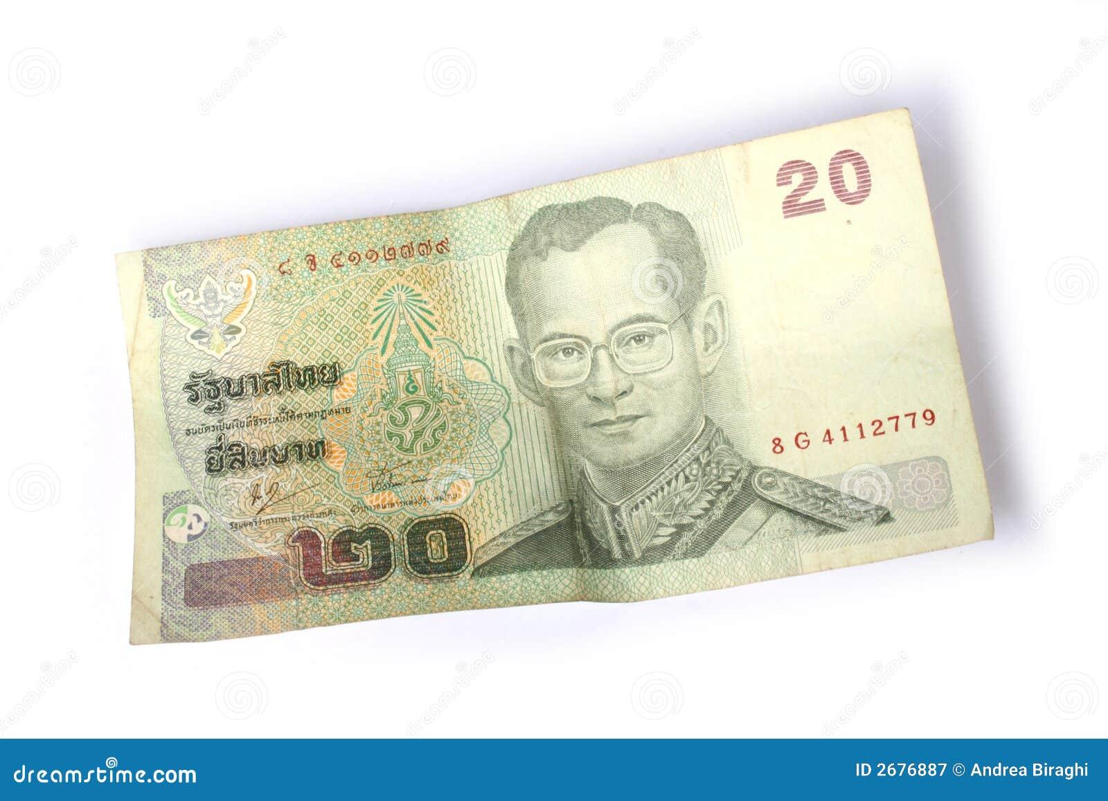 20 Thai Baht Royalty Free Stock Photography - Image: 2676887