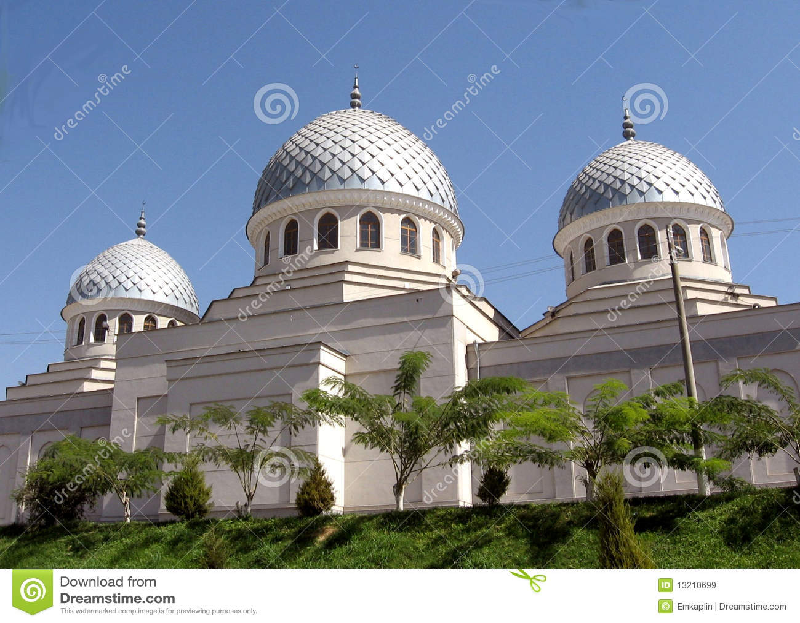 2007 cupolas juma meczetowy Tashkent trzy