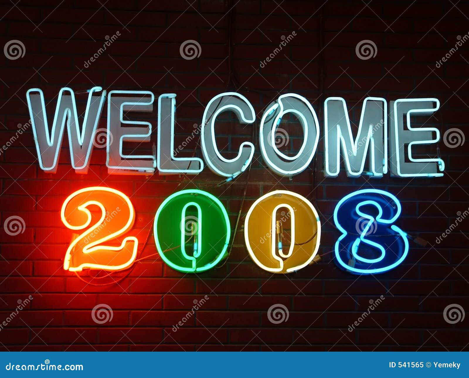 Download 2008霓虹灯广告欢迎 库存图片. 图片 包括有 符号, 信号, tittle, 旁观者, 欢迎, 奥林匹克 - 541565