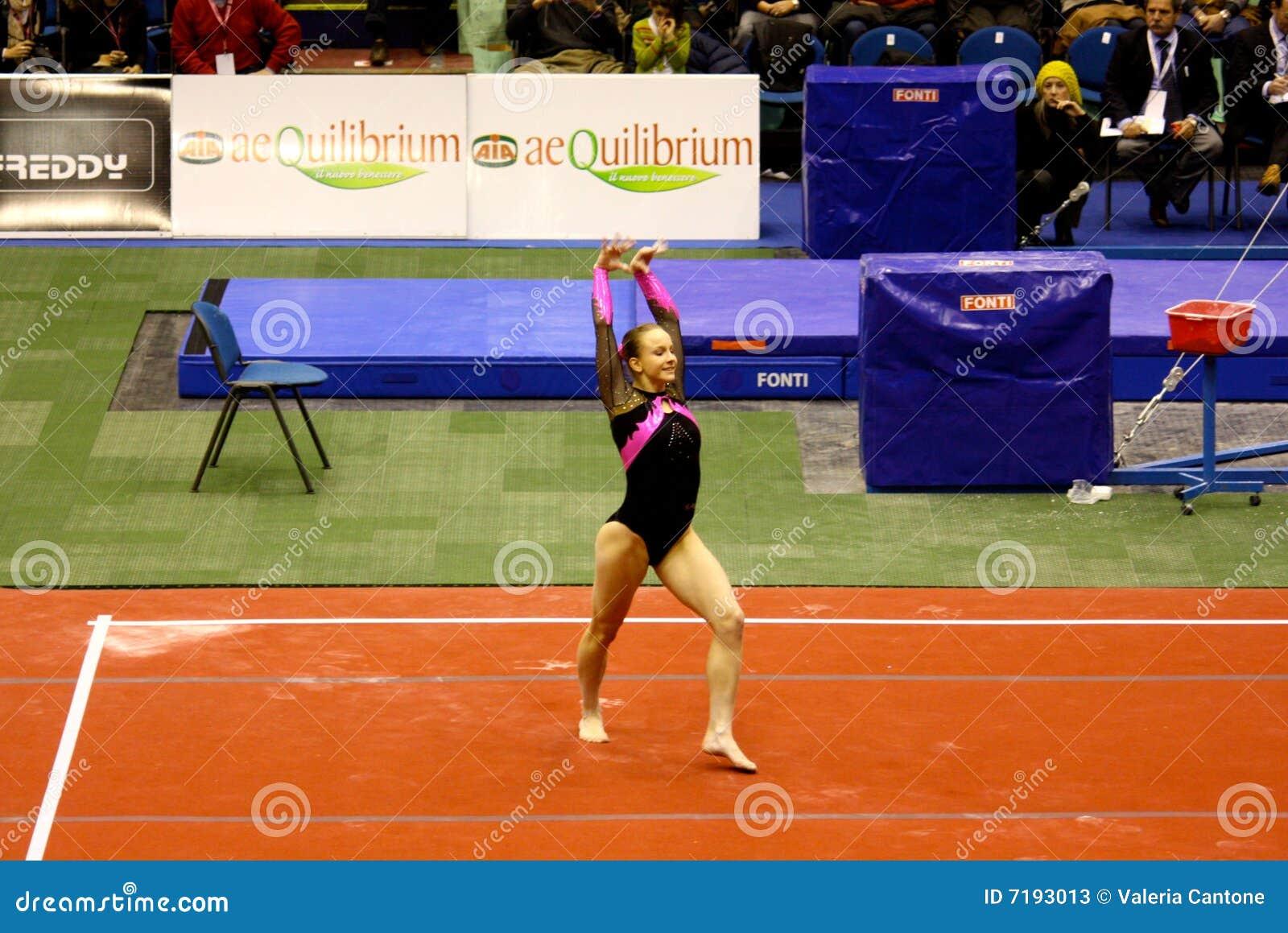 2008 μεγάλο γυμναστικό Μιλάν&omic