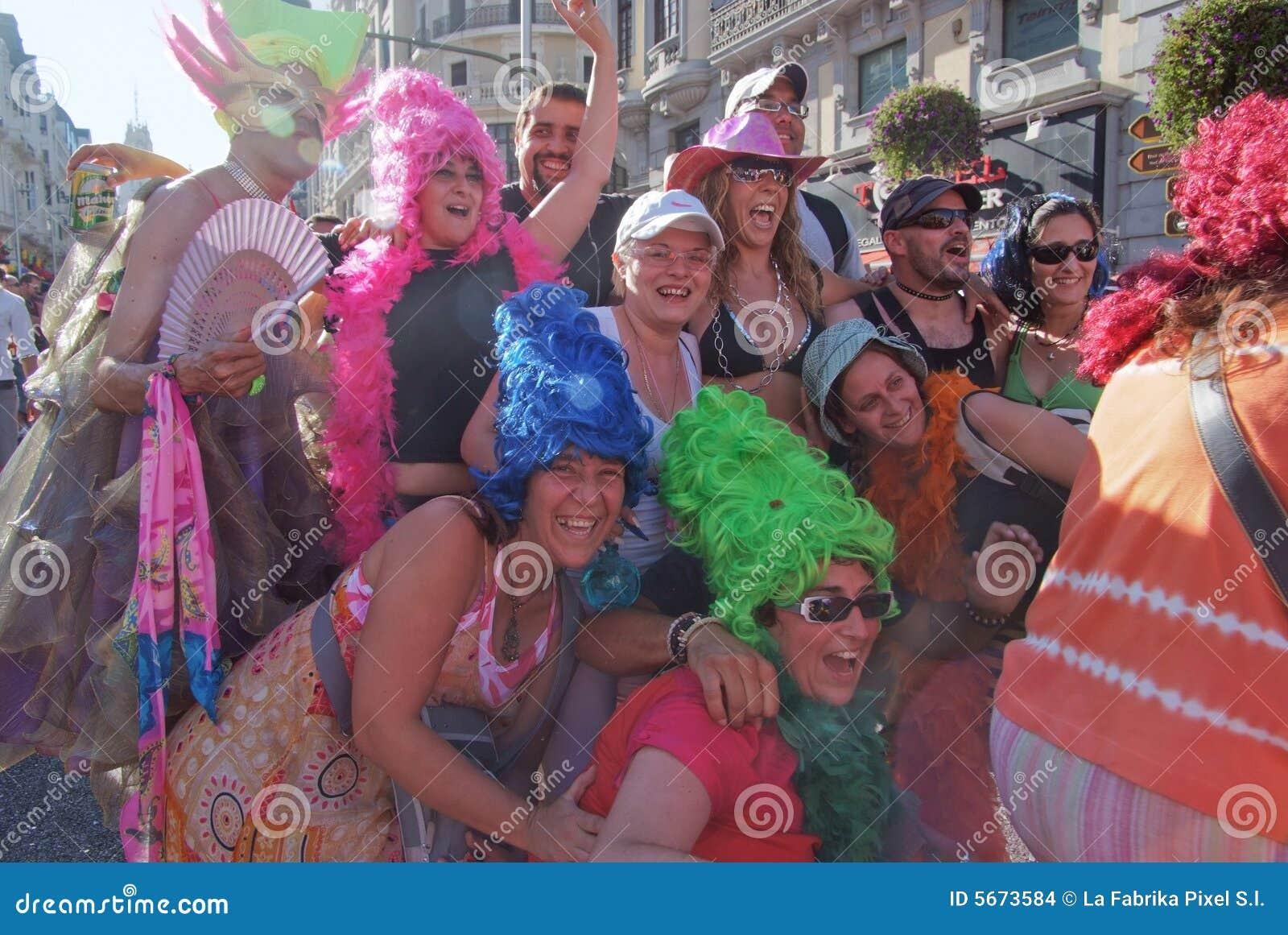 2008 голубых madrid -го гордостей в июле
