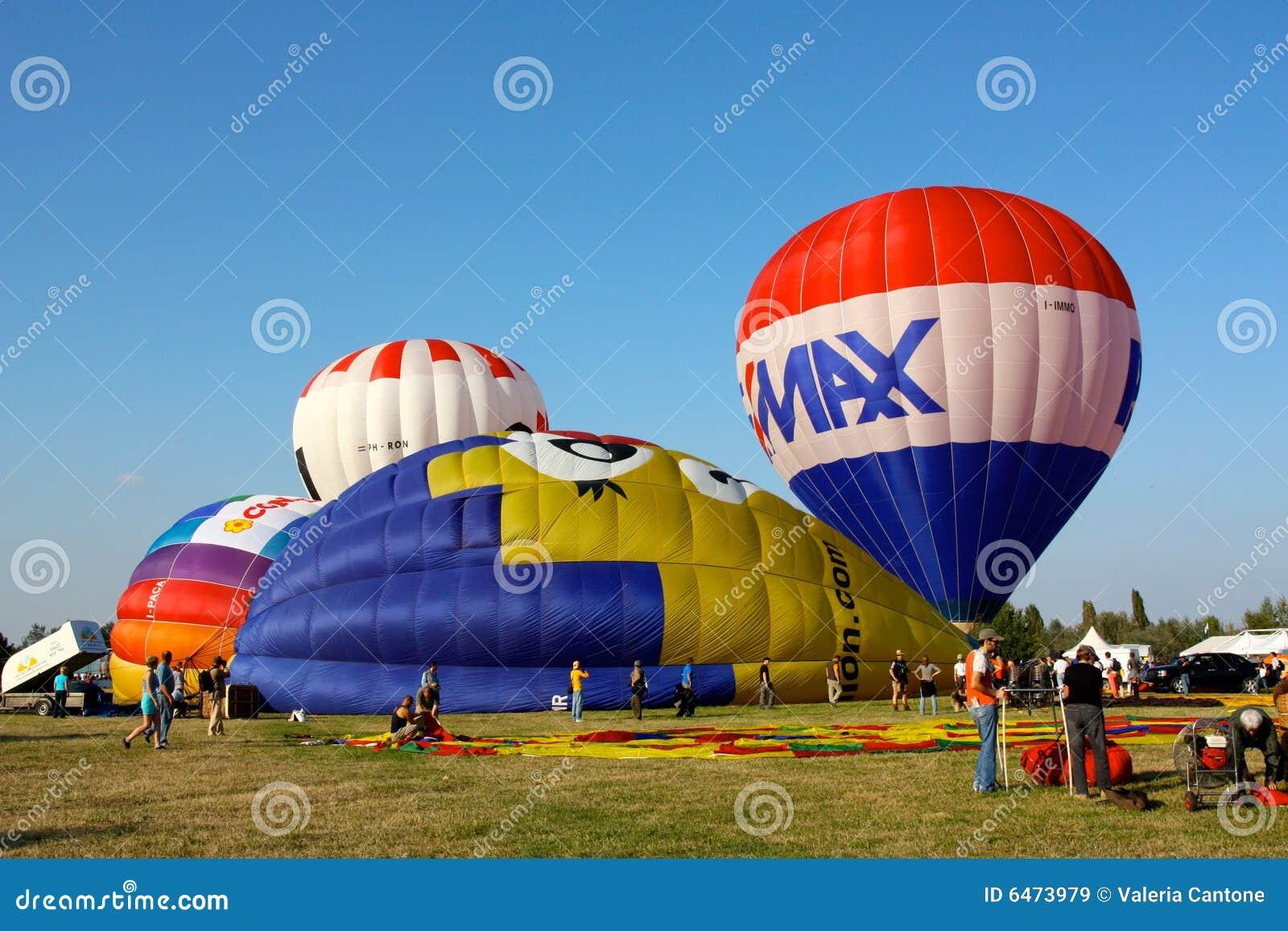 2008 balonów lotniczych Ferrara festiwal gorąco
