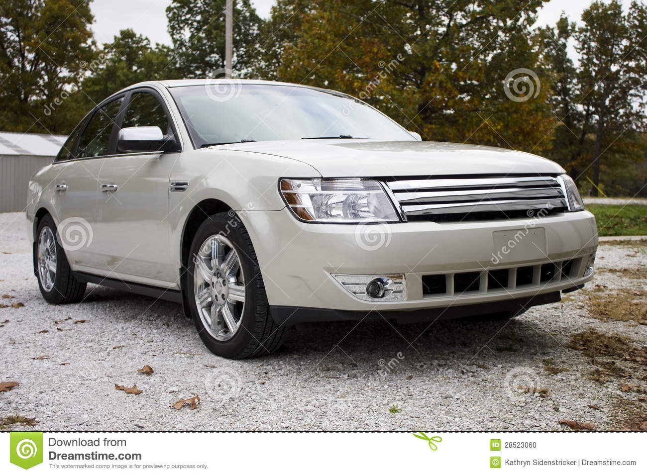 2008 ford taurus four door sedan stock photo image 28523060. Black Bedroom Furniture Sets. Home Design Ideas