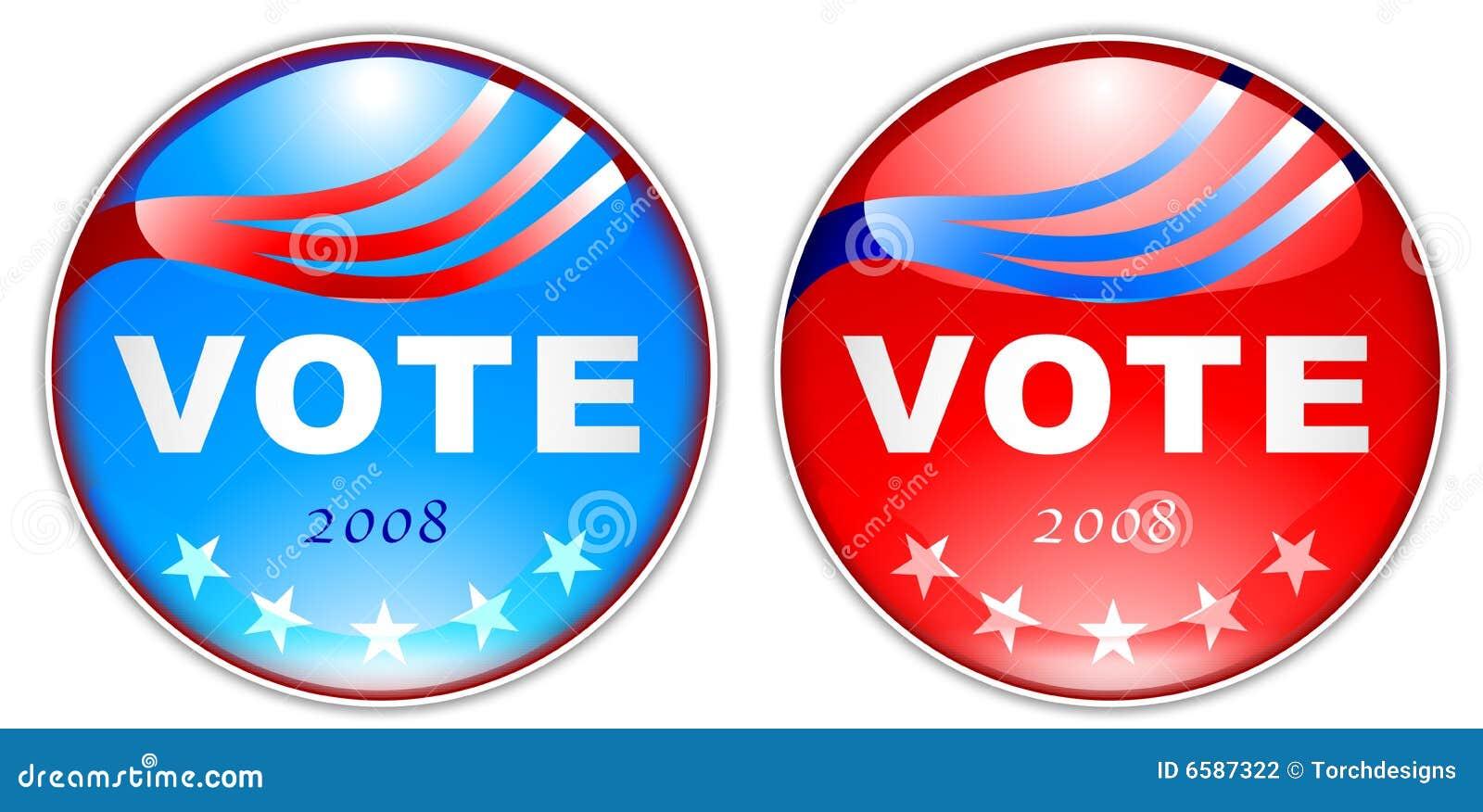 2008 guzików głosowanie