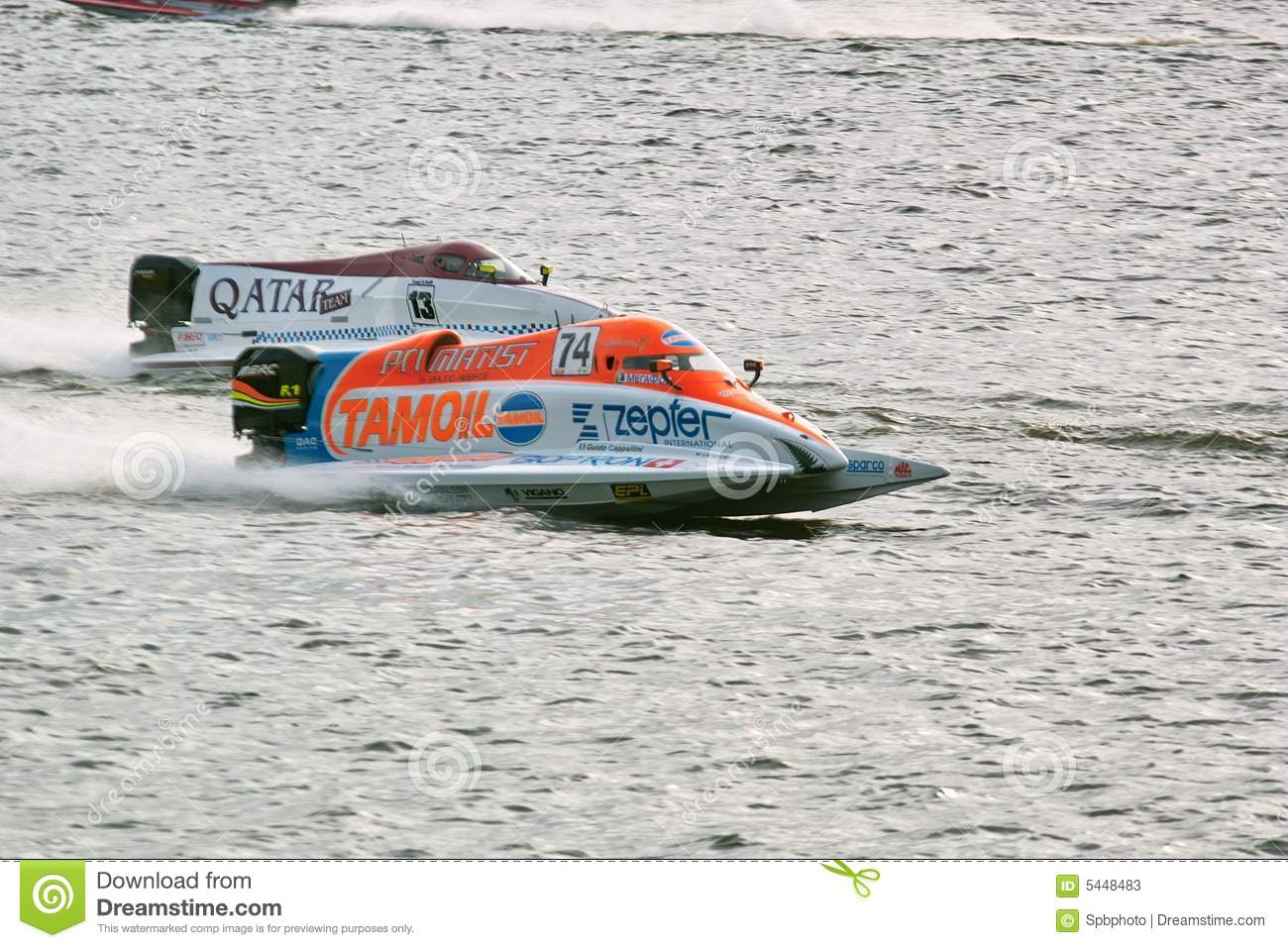2008 U I M  F1 Powerboat World Championship Editorial Stock Photo