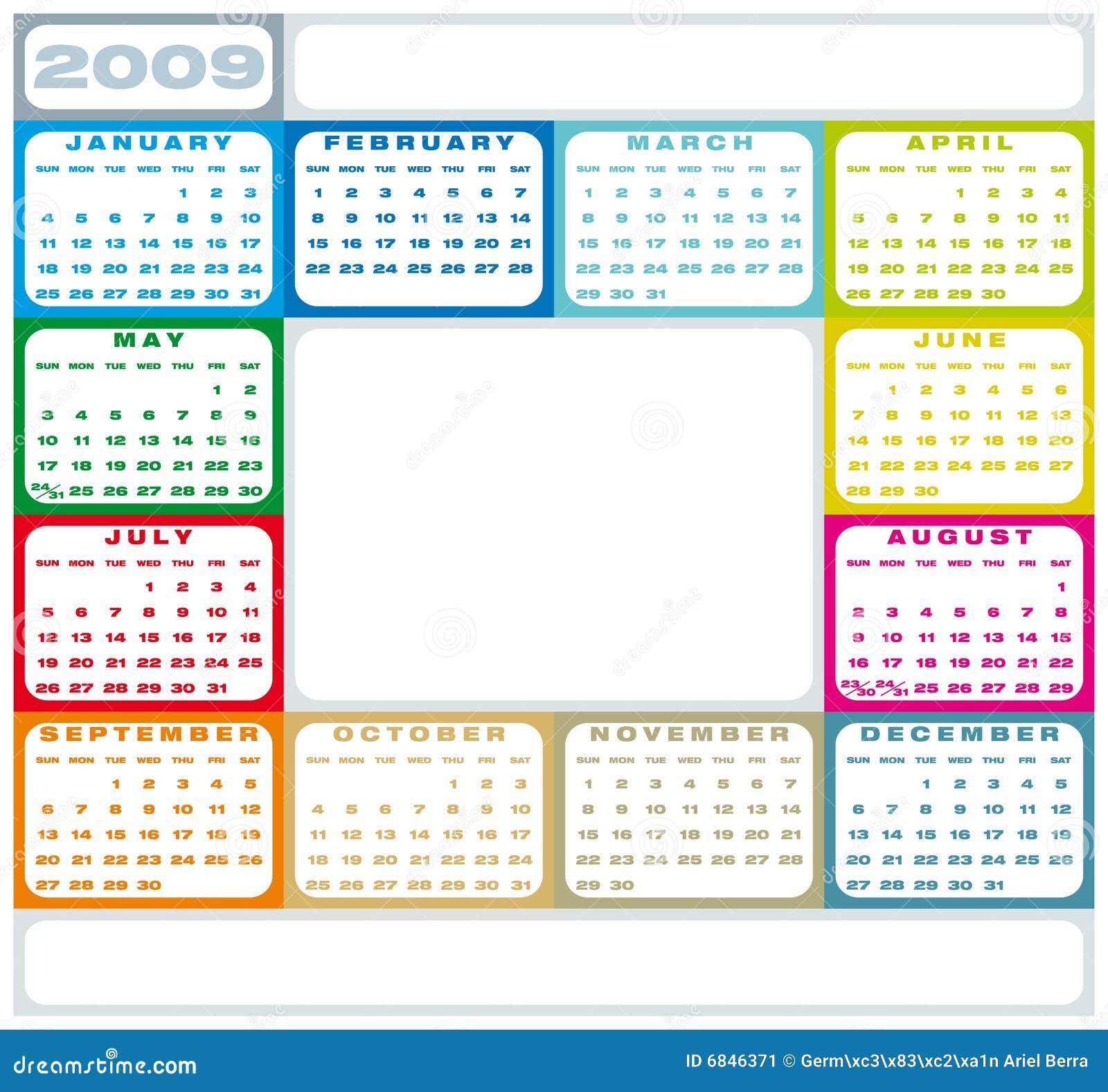2009日历