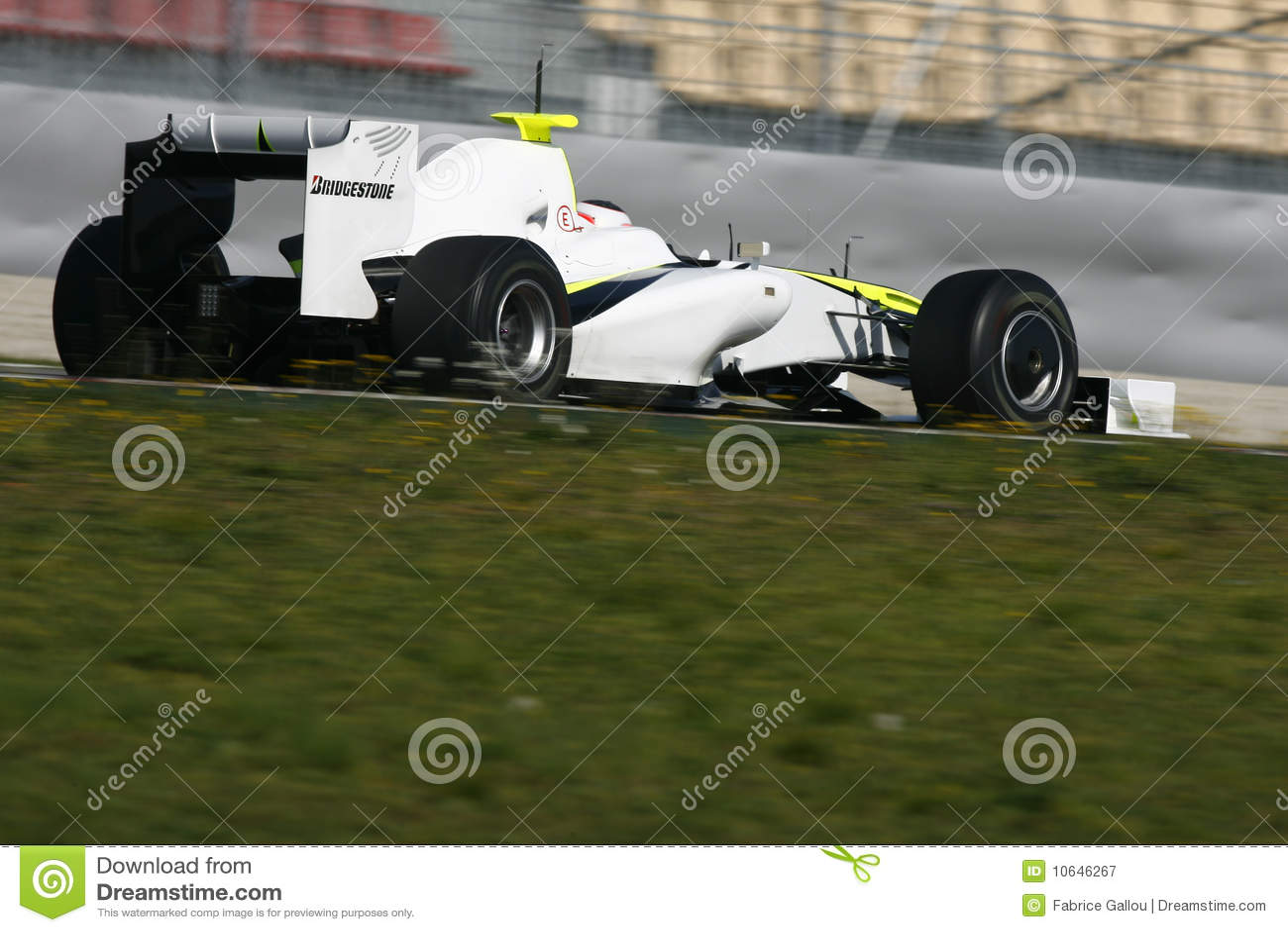 2009 barrichello brawn f1 gp rubens