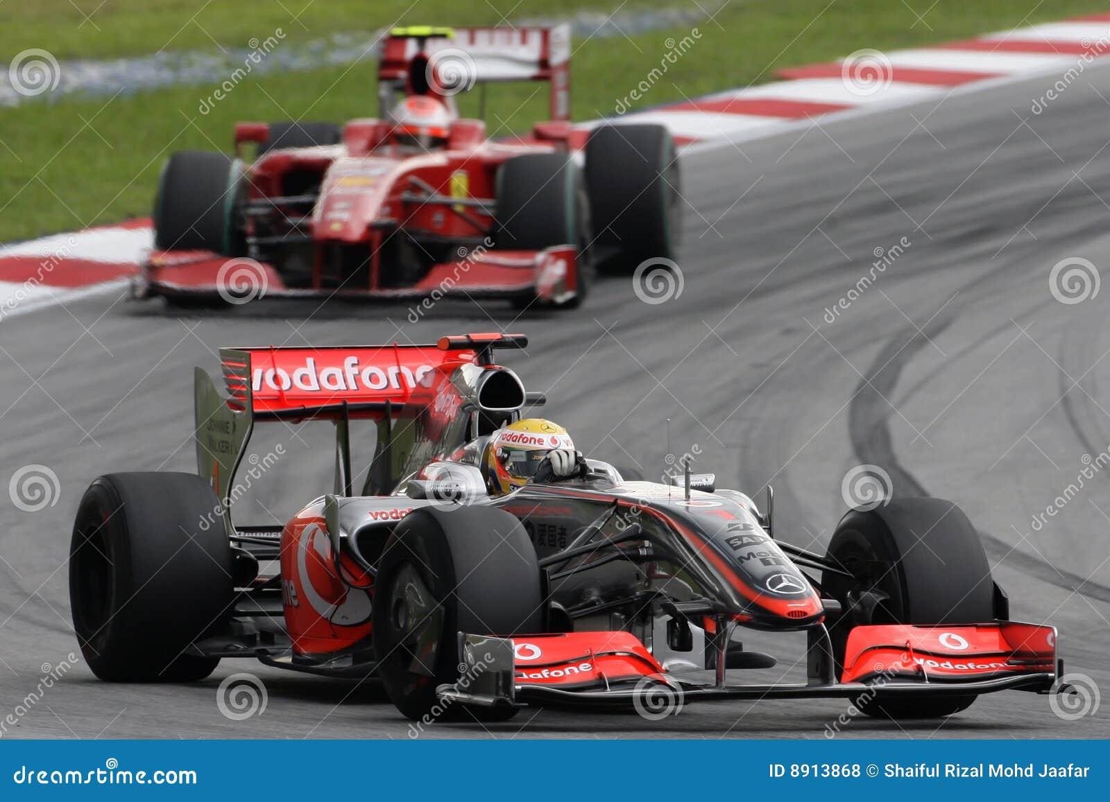 2009 f1 hamilton lewis mclaren команда mercedes
