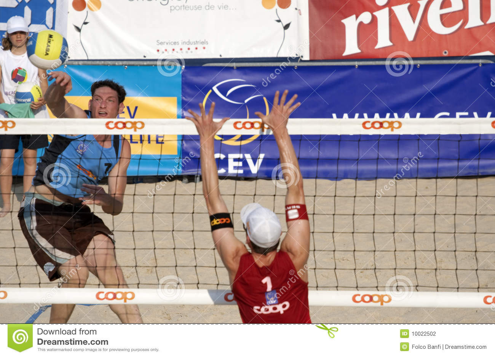 2009 torneo del voleo de la playa de FIVB CEV Lausanne