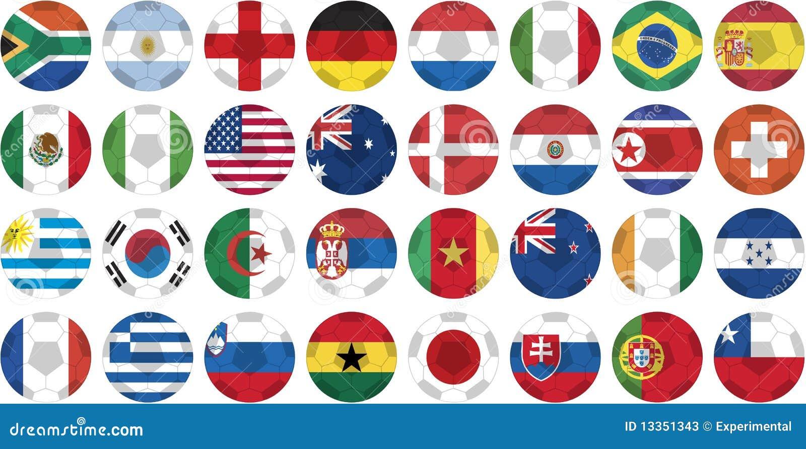 201个按钮托起标志国家贴纸世界