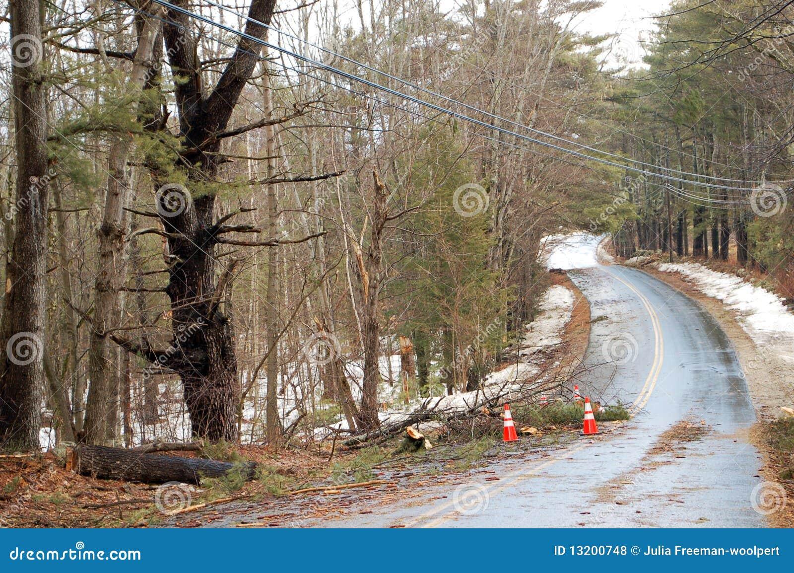 2010年汉普郡新的风暴冬天