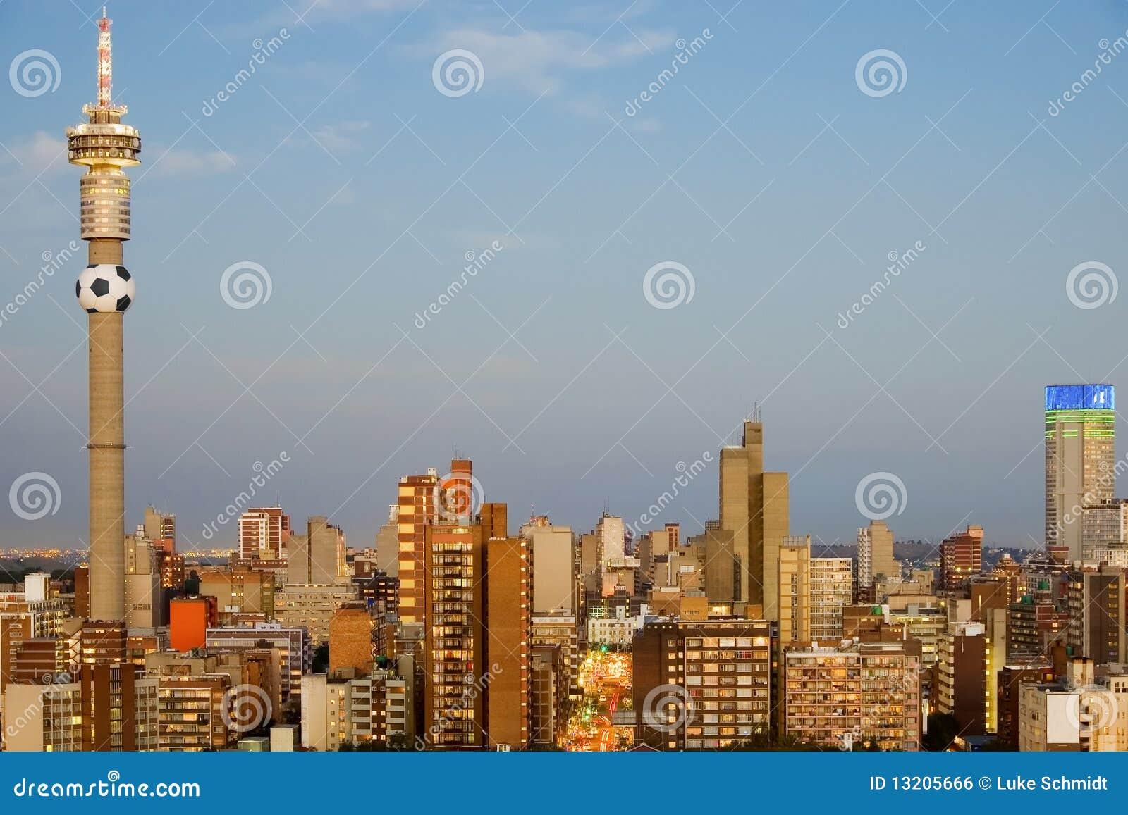 2010 Africa c filiżanki gospodarza Johannesburg południe świat