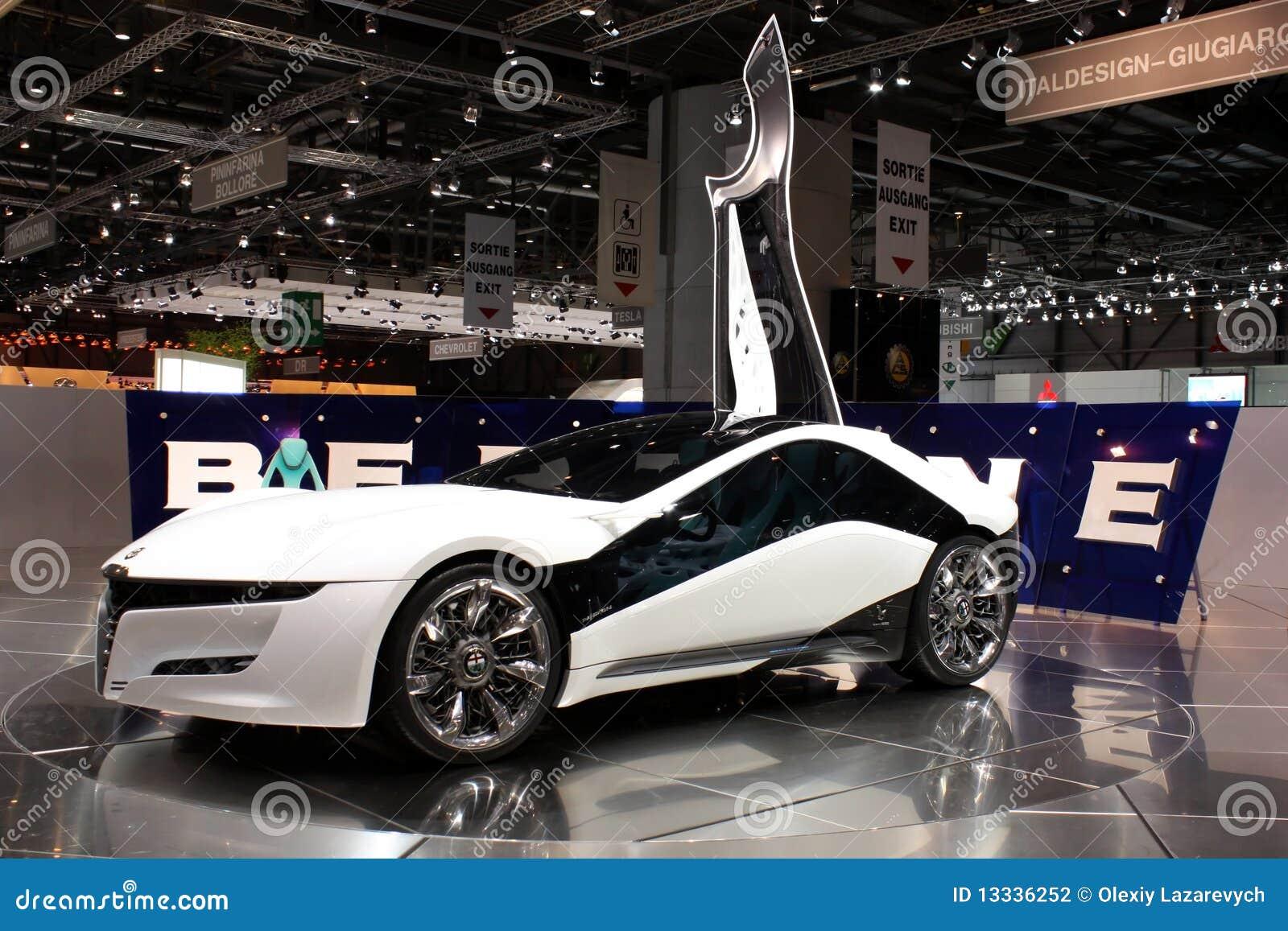 2010 alfa Geneva motorowy pandion Romeo przedstawienie