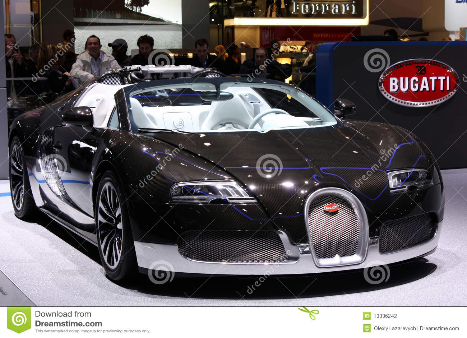 2010 bugatti Geneva motorowego przedstawienie veyron